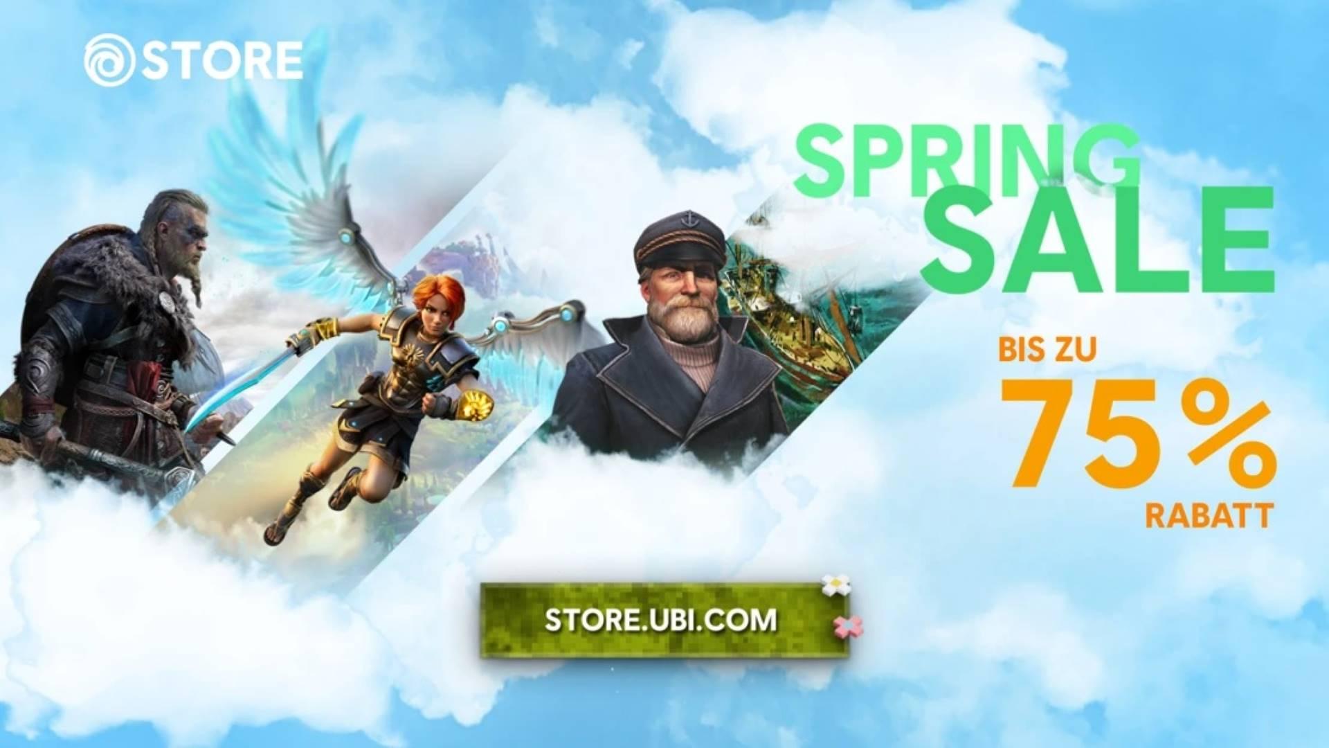 Ubisoft Spring Sale 2021 - Keyart