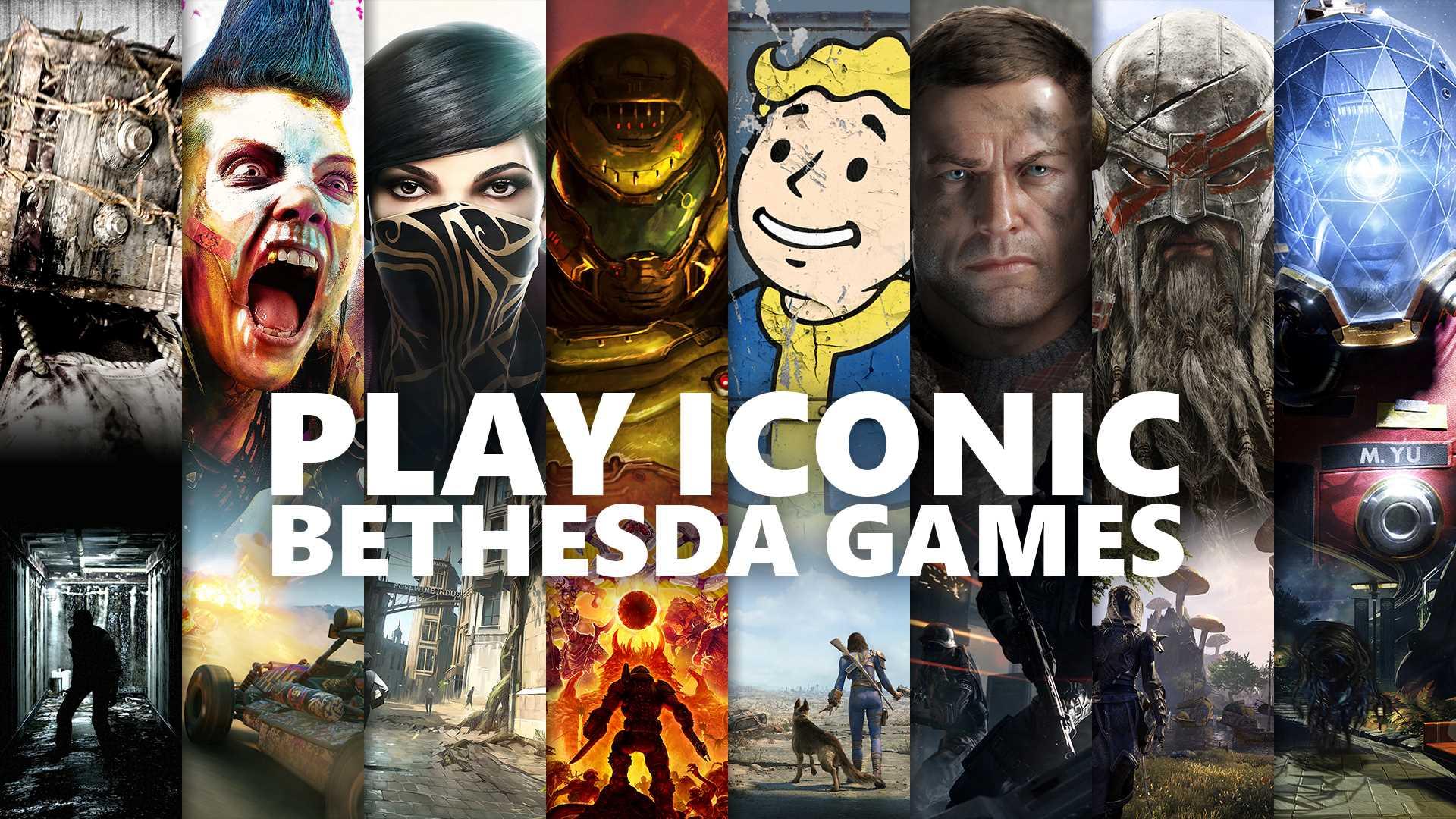 Bethesda Xbox Game Pass Keyart