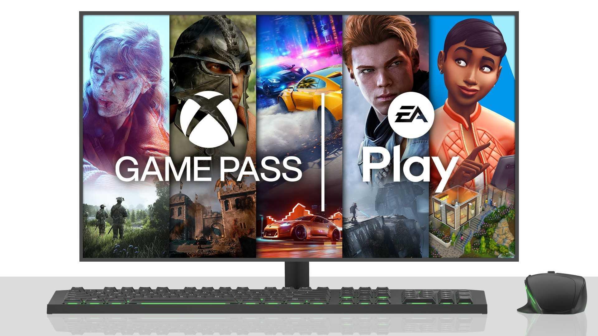 EA Play Xbox Game Pass - Keyart