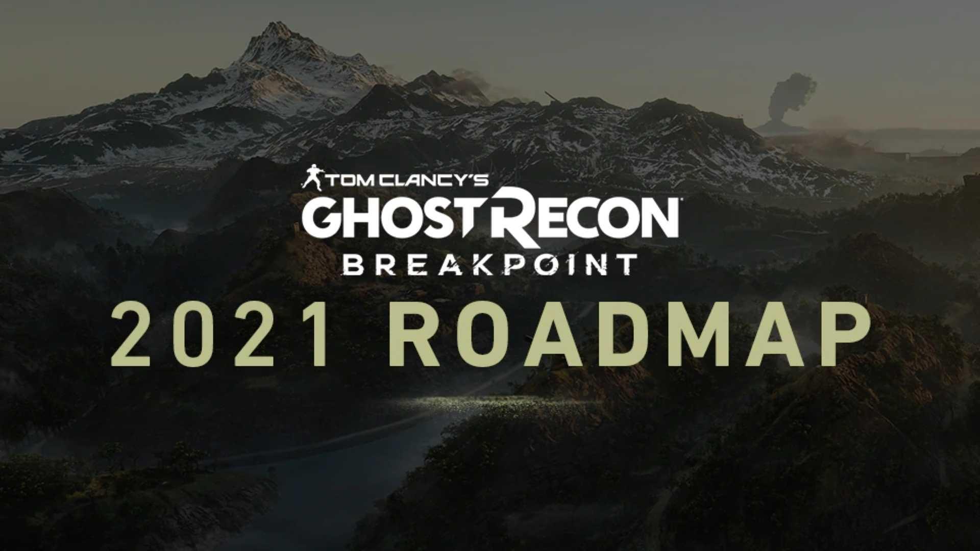 Ghost Recon Breakpoint Roadmap 2021 - Keyart