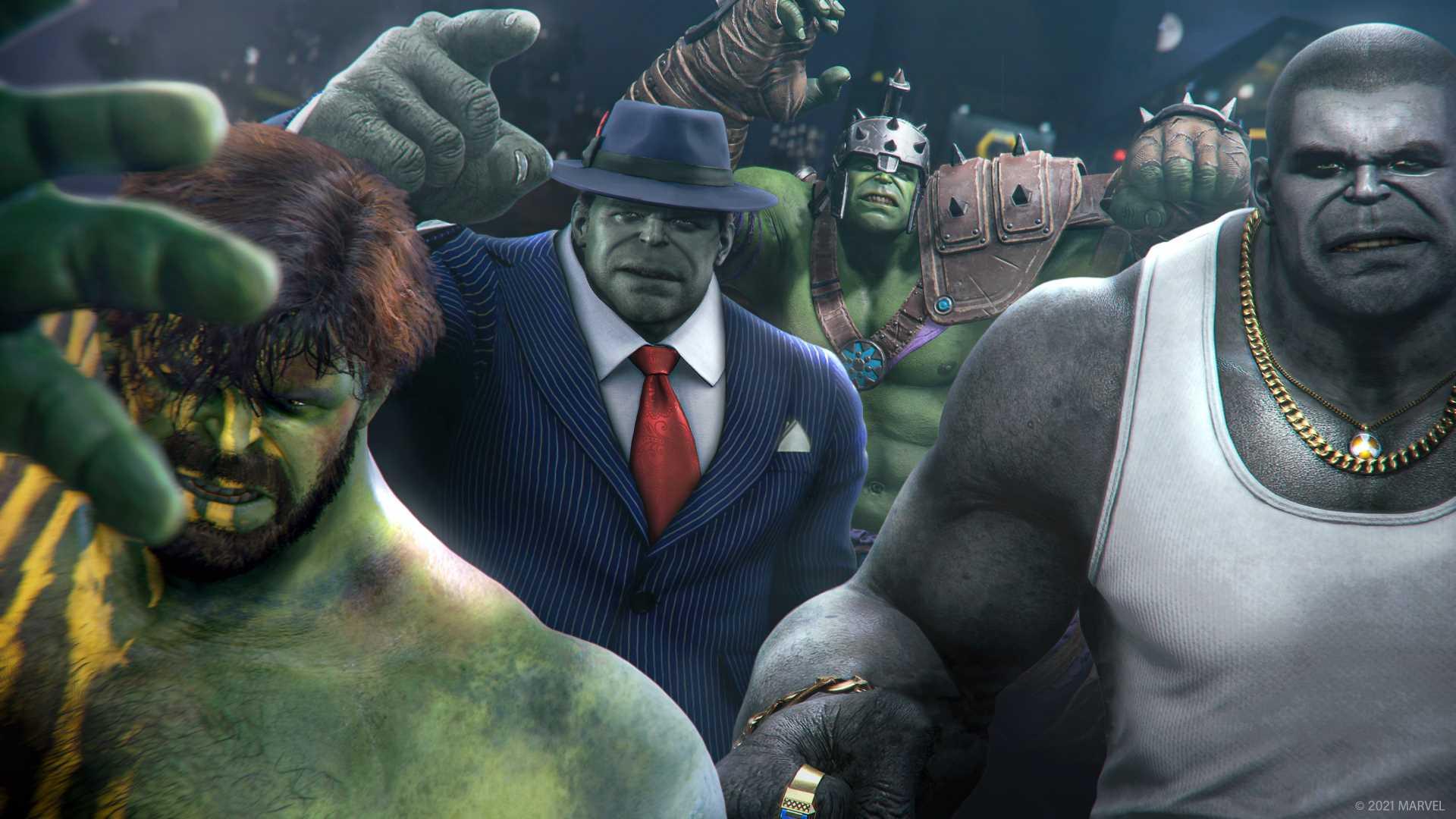 Marvel's Avengers Tachyonen-Anomalie Event - Hulk