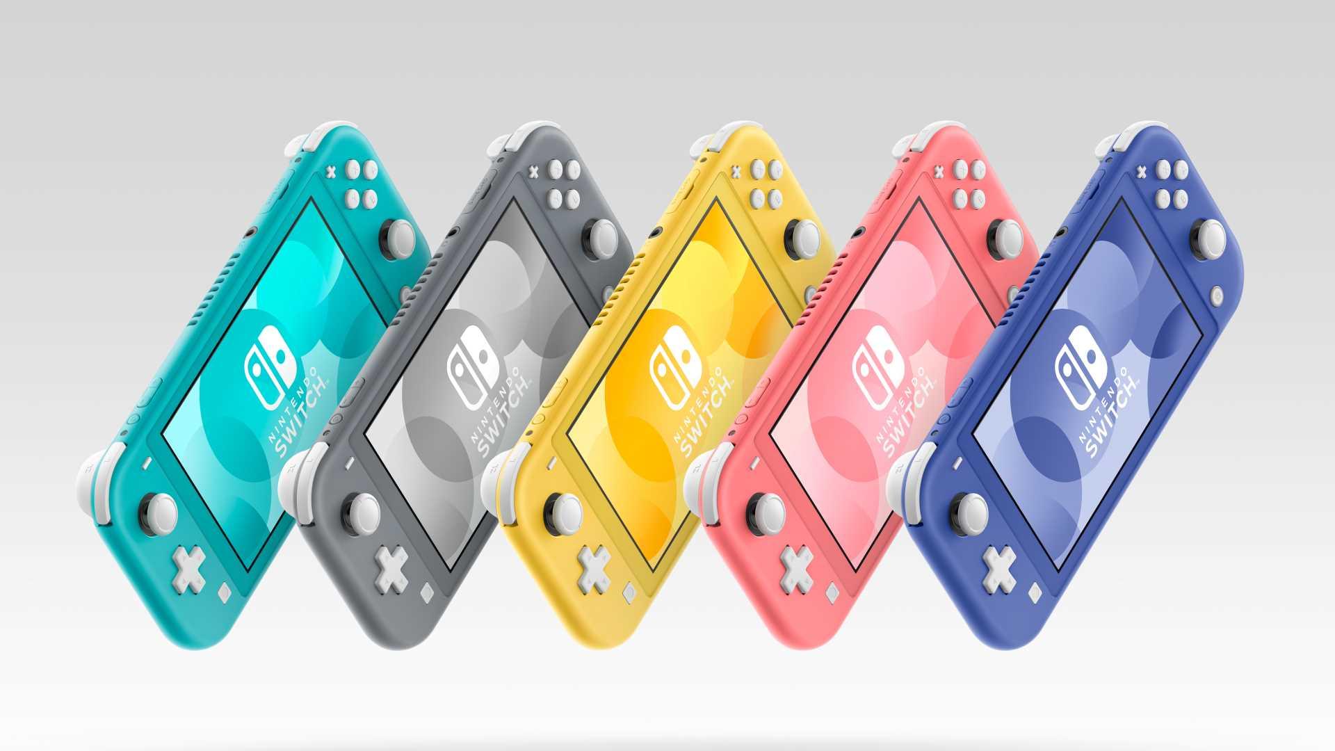 Nintendo Switch Lite Blau - alle Farben im Überblick