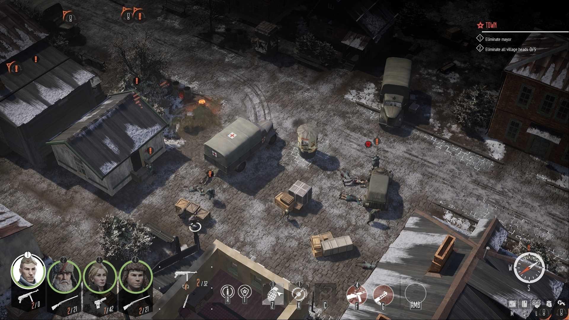 Partisans 1941 Back Into Battle - Screenshot
