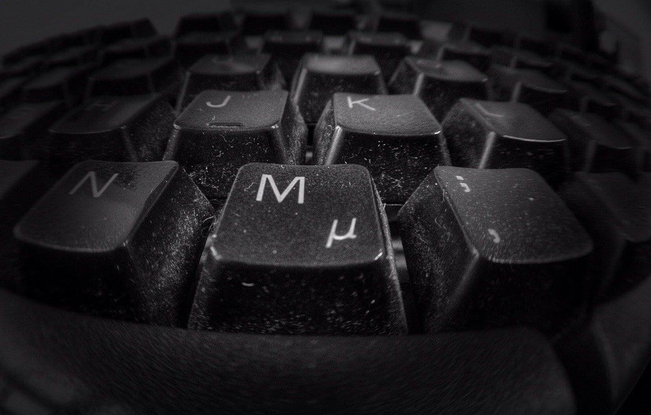 Tastatur - Schmutz