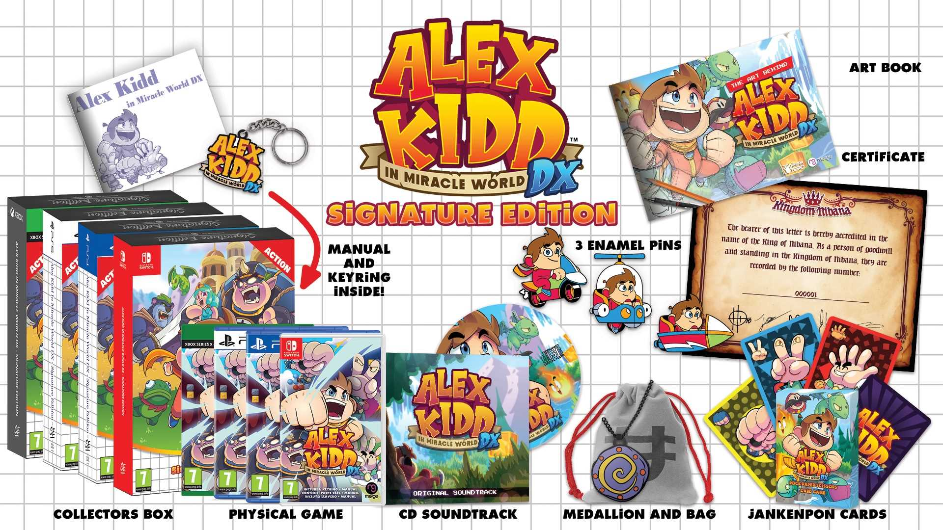 Alex Kidd in Miracle World DX - Signature Edition