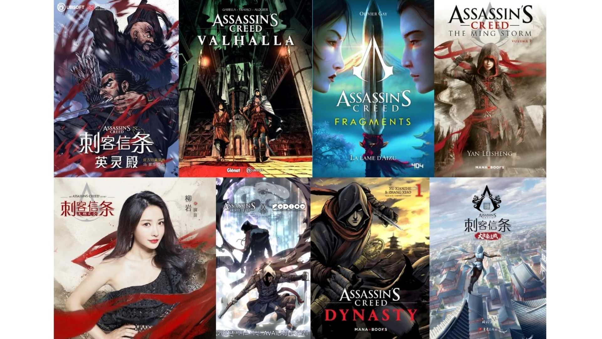 Assassin's Creed Stories - Auswahl an Lektüre