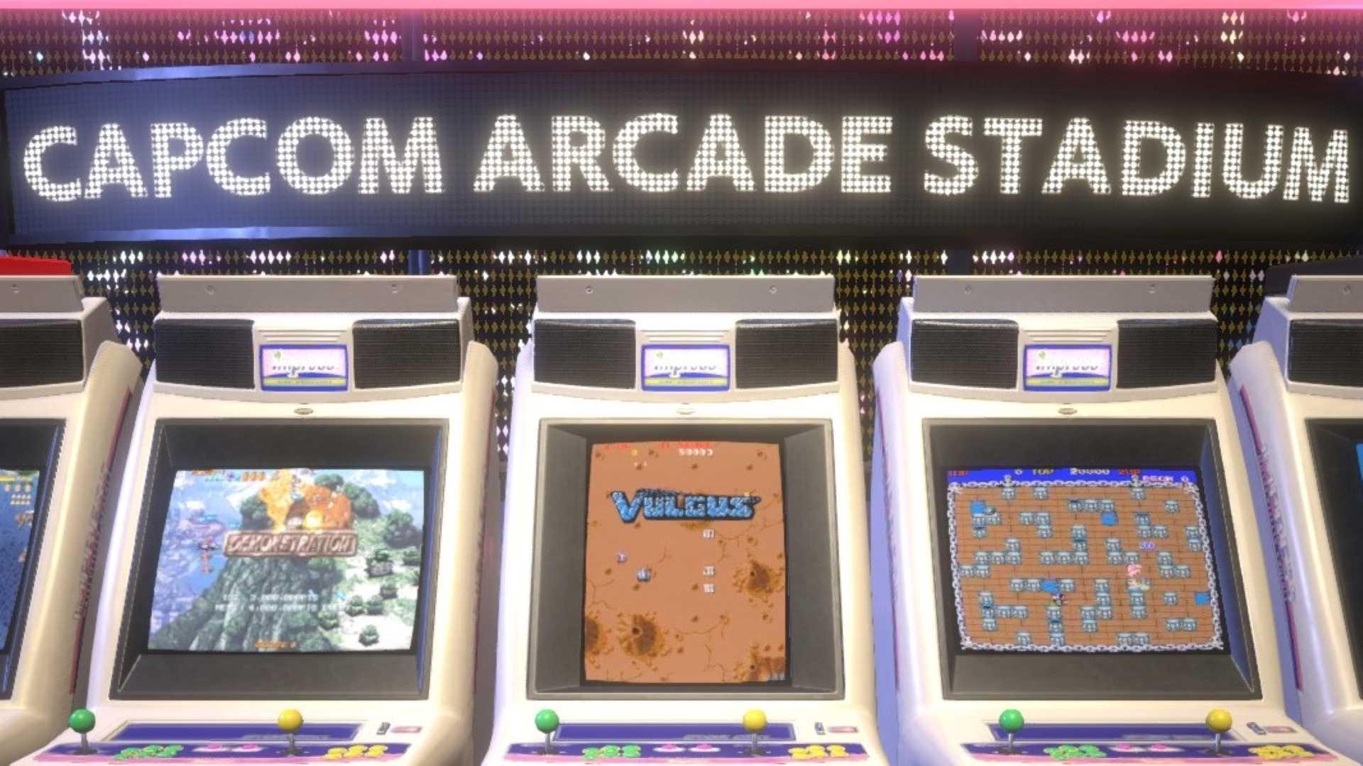 Capcom Arcade Stadium - Klassische Arcade-Automaten