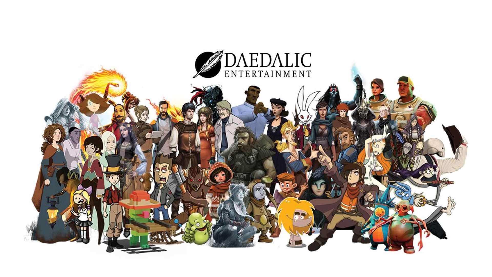 Daedalic Publisher Sale Steam - Charaktere von Daedalic