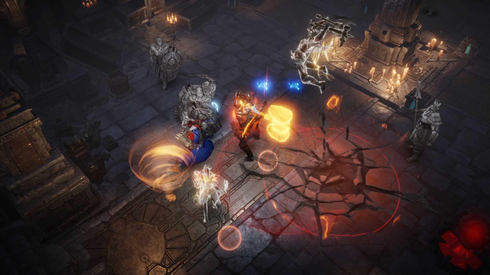 Diablo Immortal geschlossene Alpha - Kampf Schatten