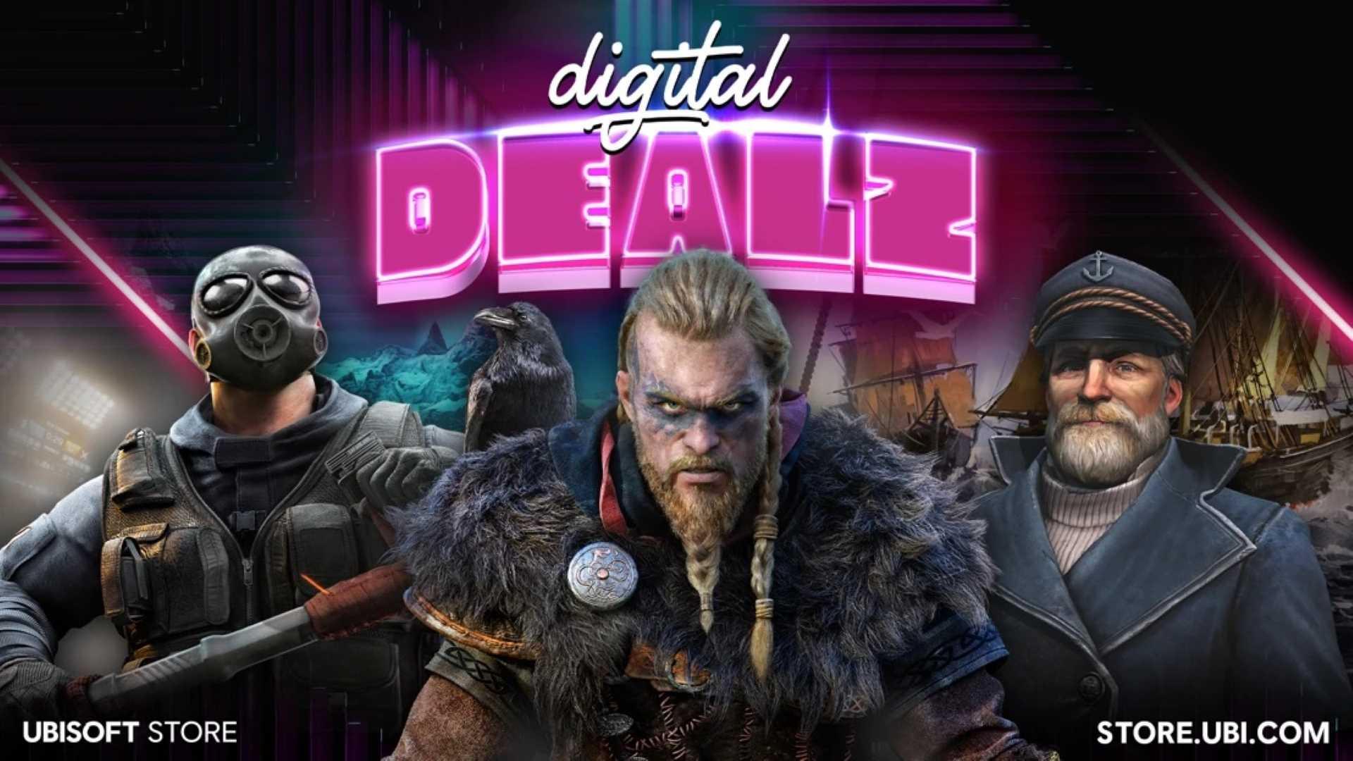 Digital Dealz Ubisoft - Key Art
