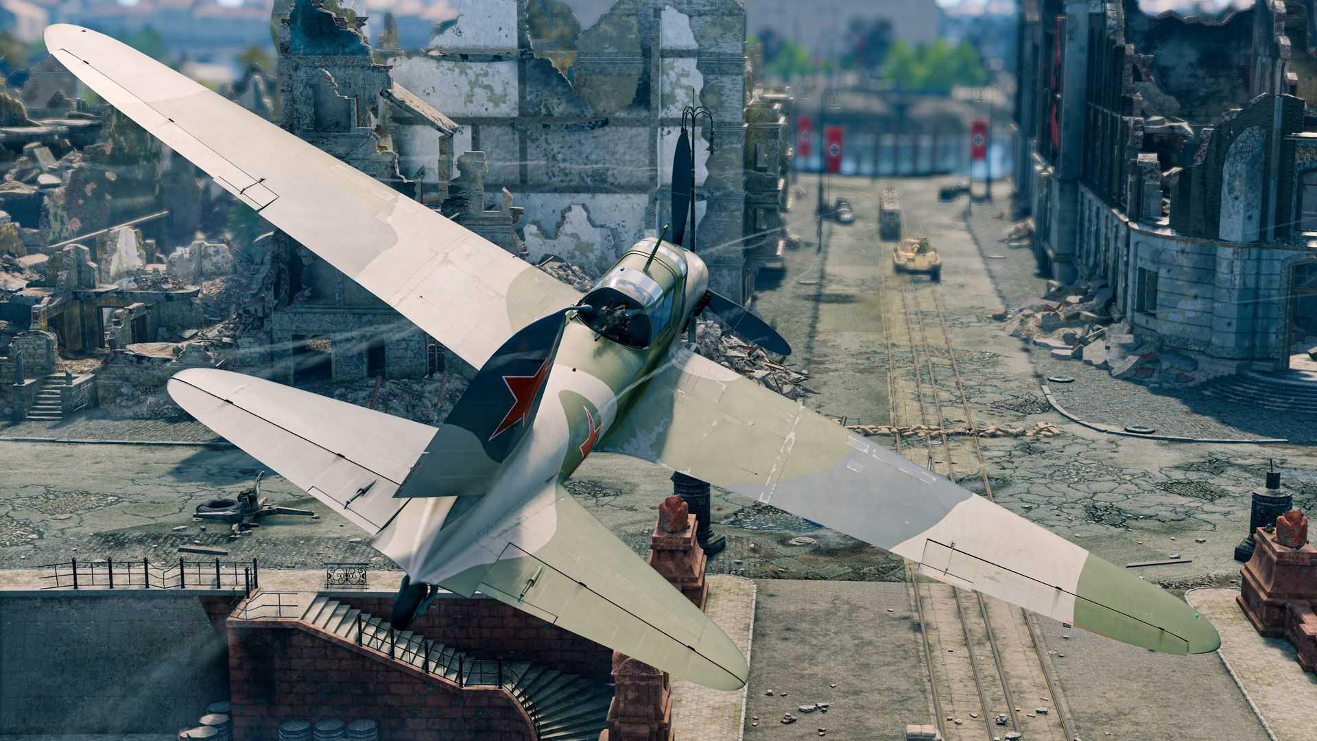 Enlisted Schlacht von Berlin - Flugzeug über Berlin