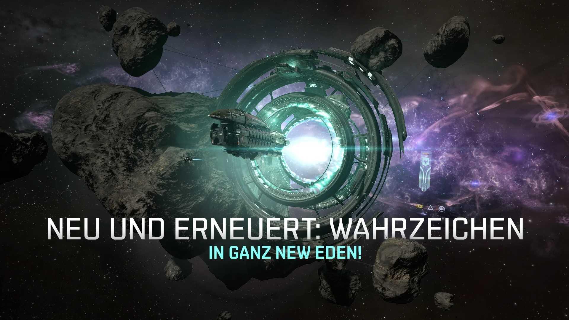 EVE Online Wahrzeichen - Keyart