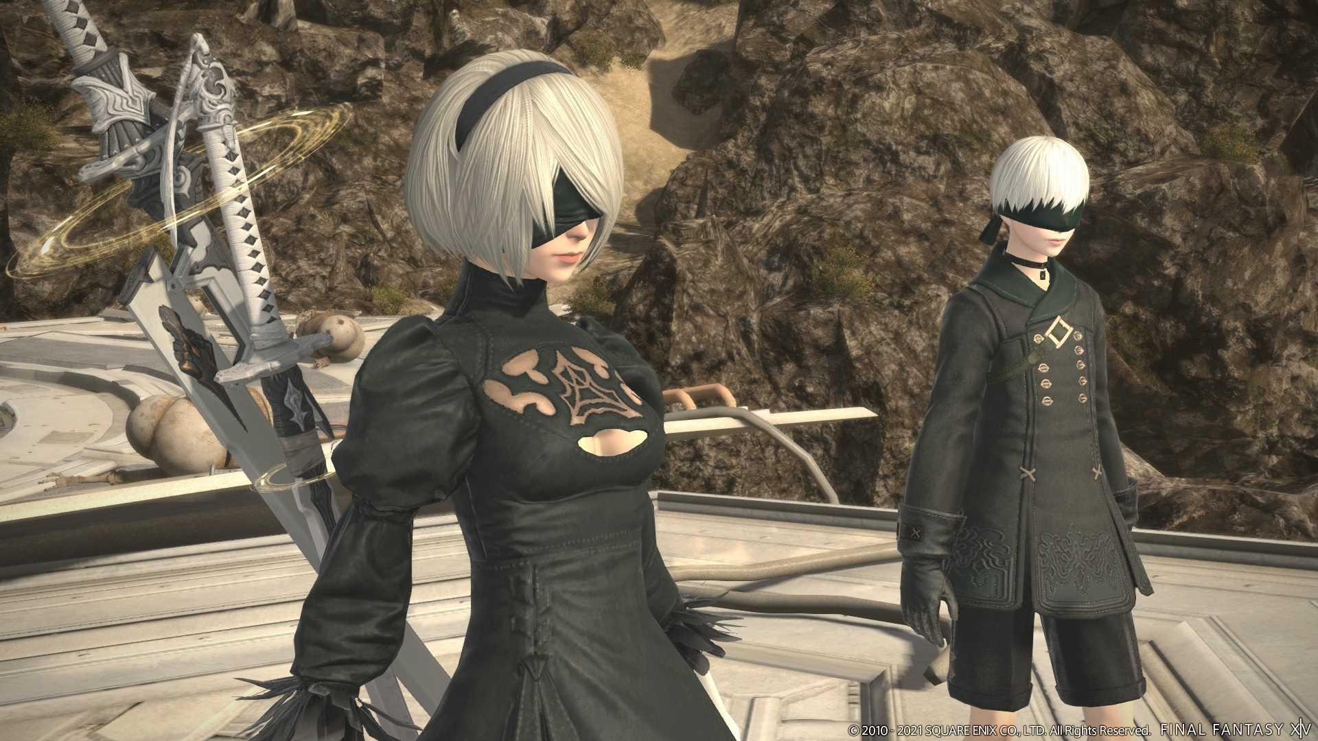 Final Fantasy XIV Online Patch 5.5 - NIeR