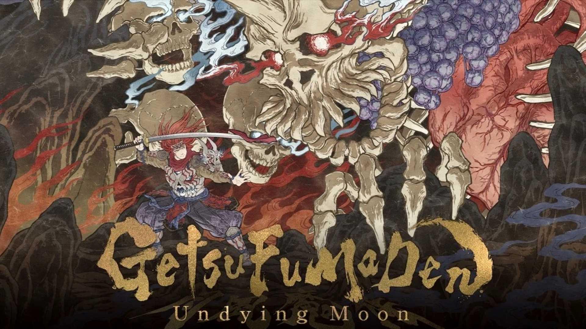 GetsuFumaDen: Undying Moon - Keyart