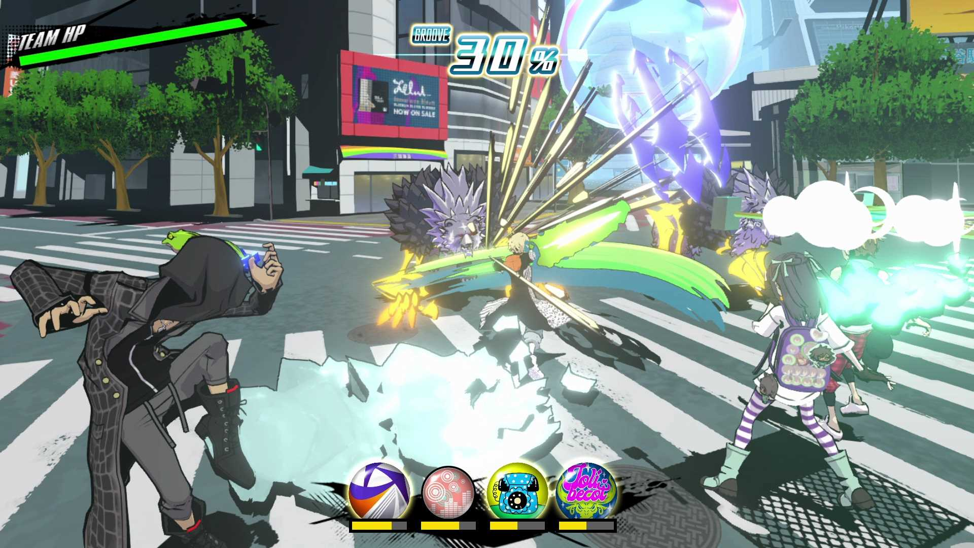 NEO: The World Ends with You - Screenshot