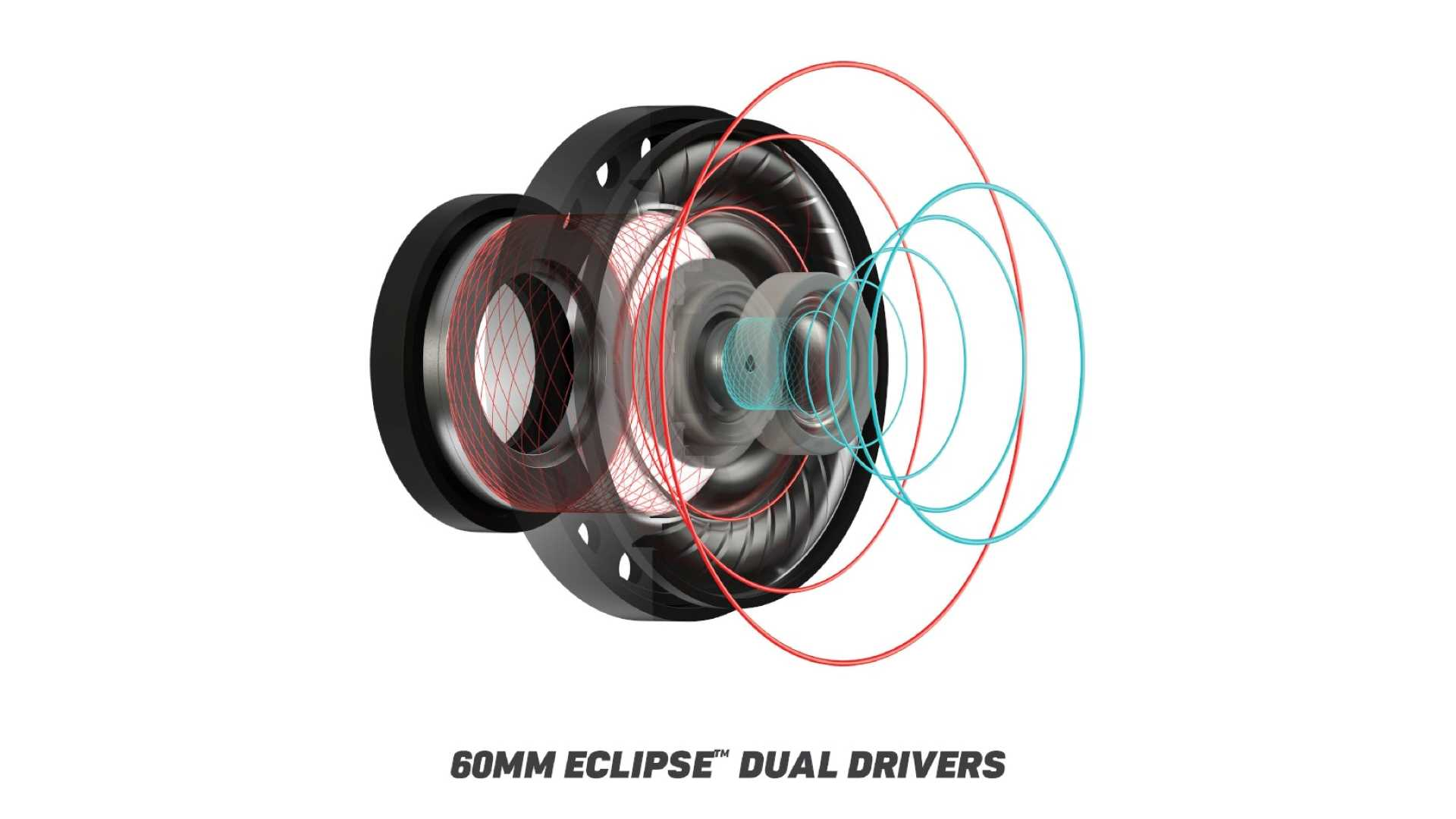 Turtle Beach Recon 500 - 60 mm Eclipse Duals Drivers