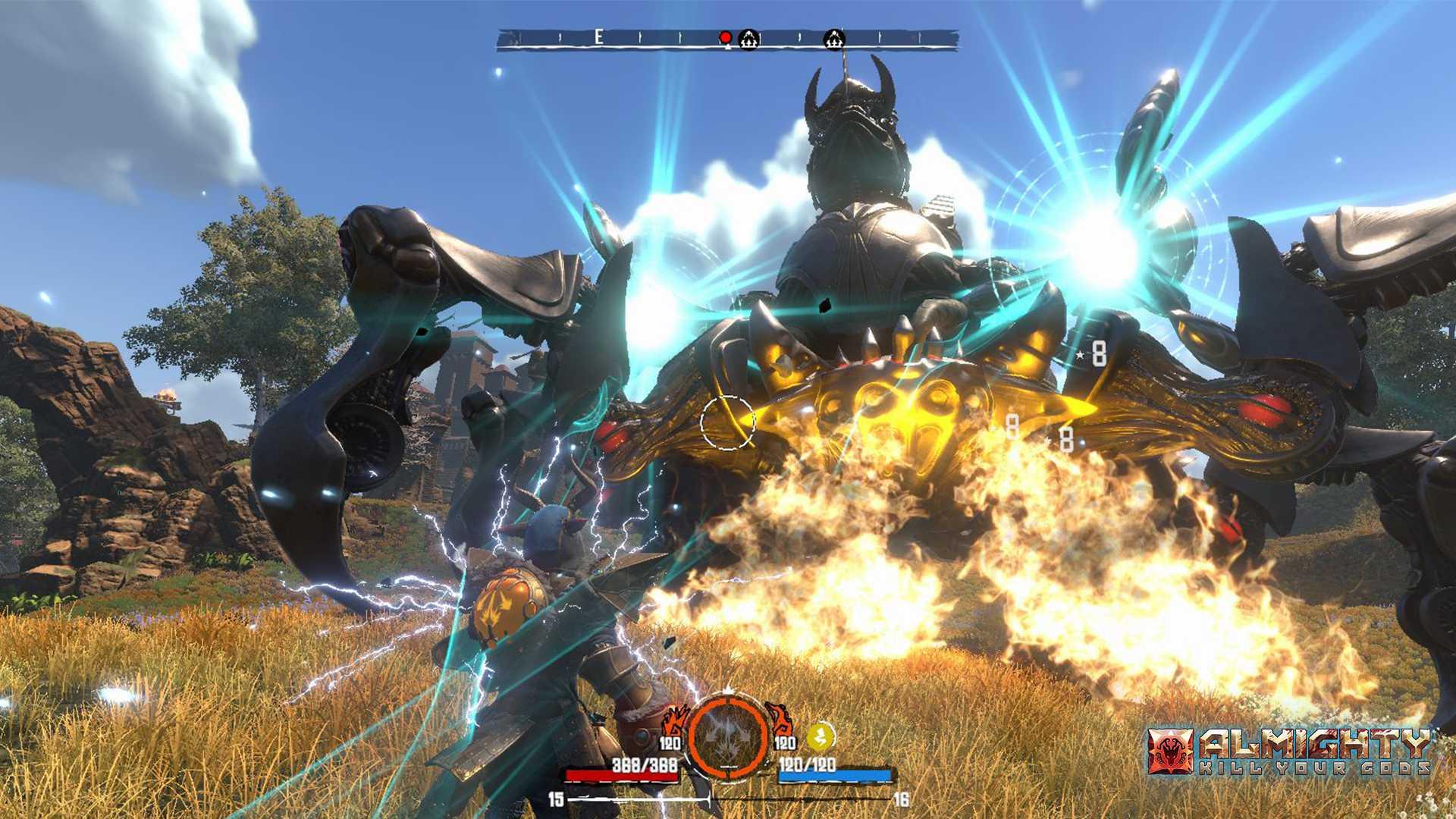 Almighty: Kill Your Gods - Screenshot