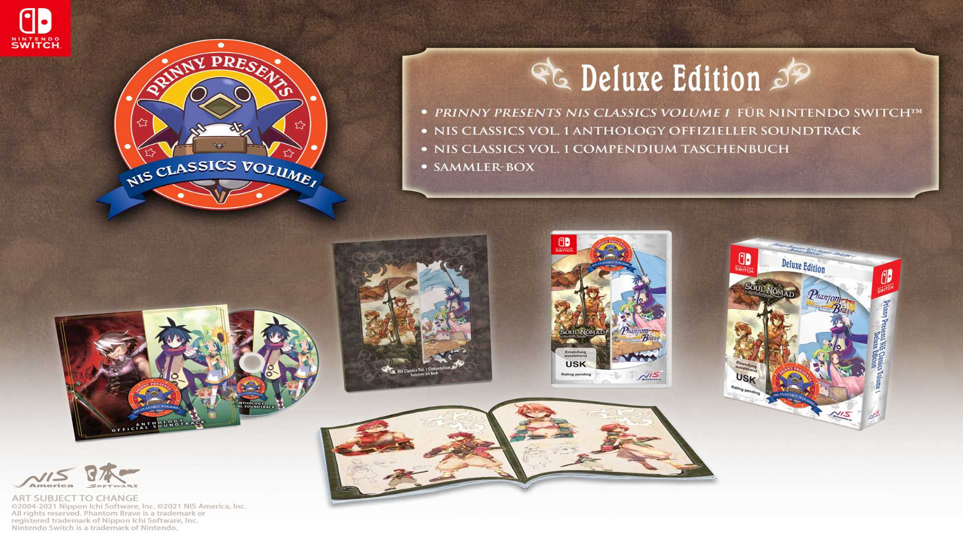 NIS Classics Volume 1 Veröffentlichungsdatum - Deluxe Edition