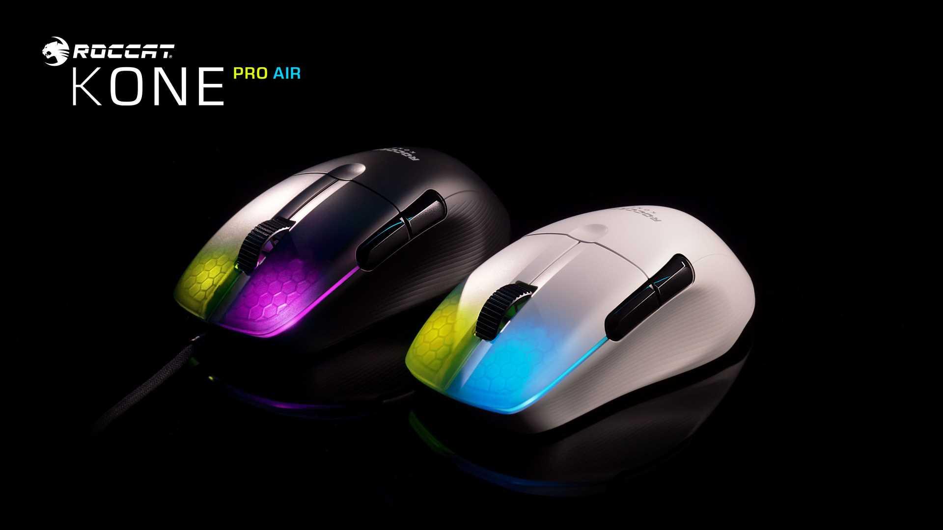 ROCCAT Kone Pro Air - Gaming Maus mit und ohne Kabel