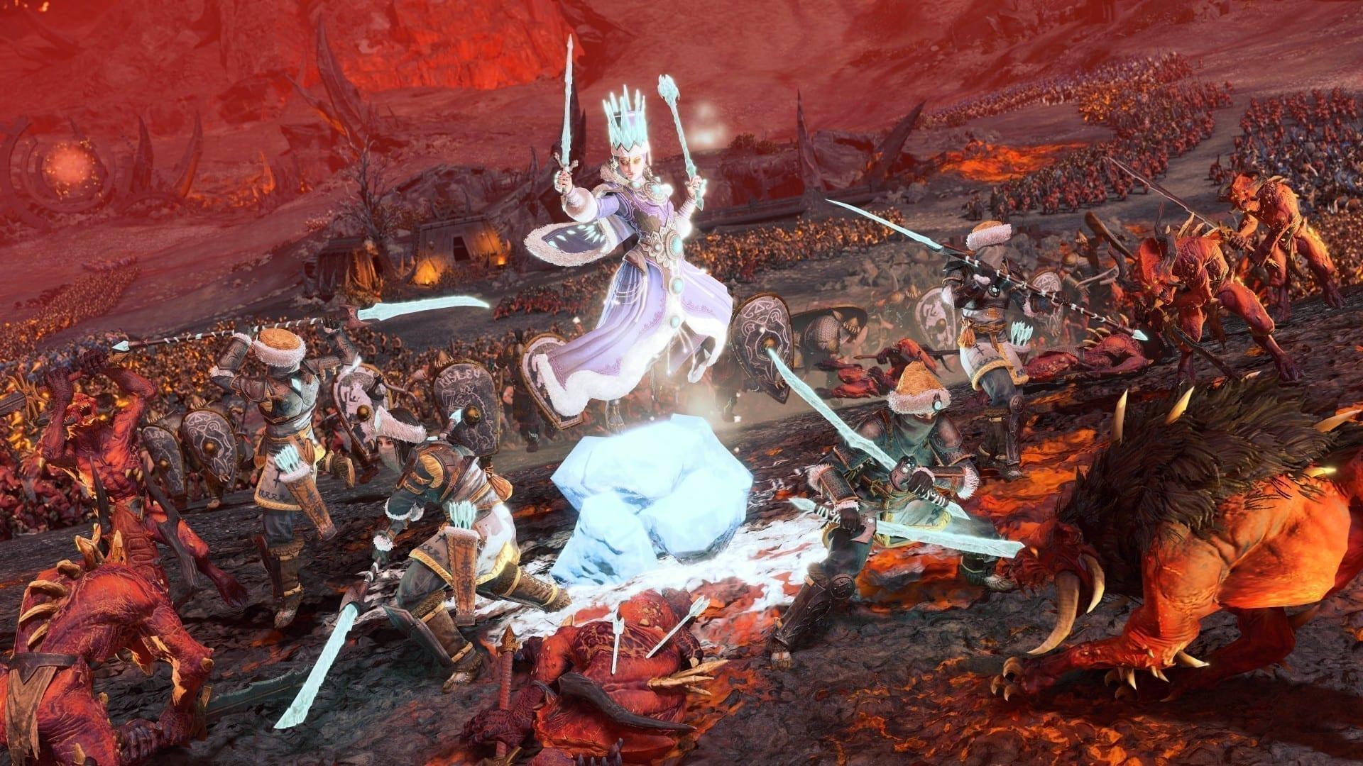 Total War Warhammer III Die Eiskönigin