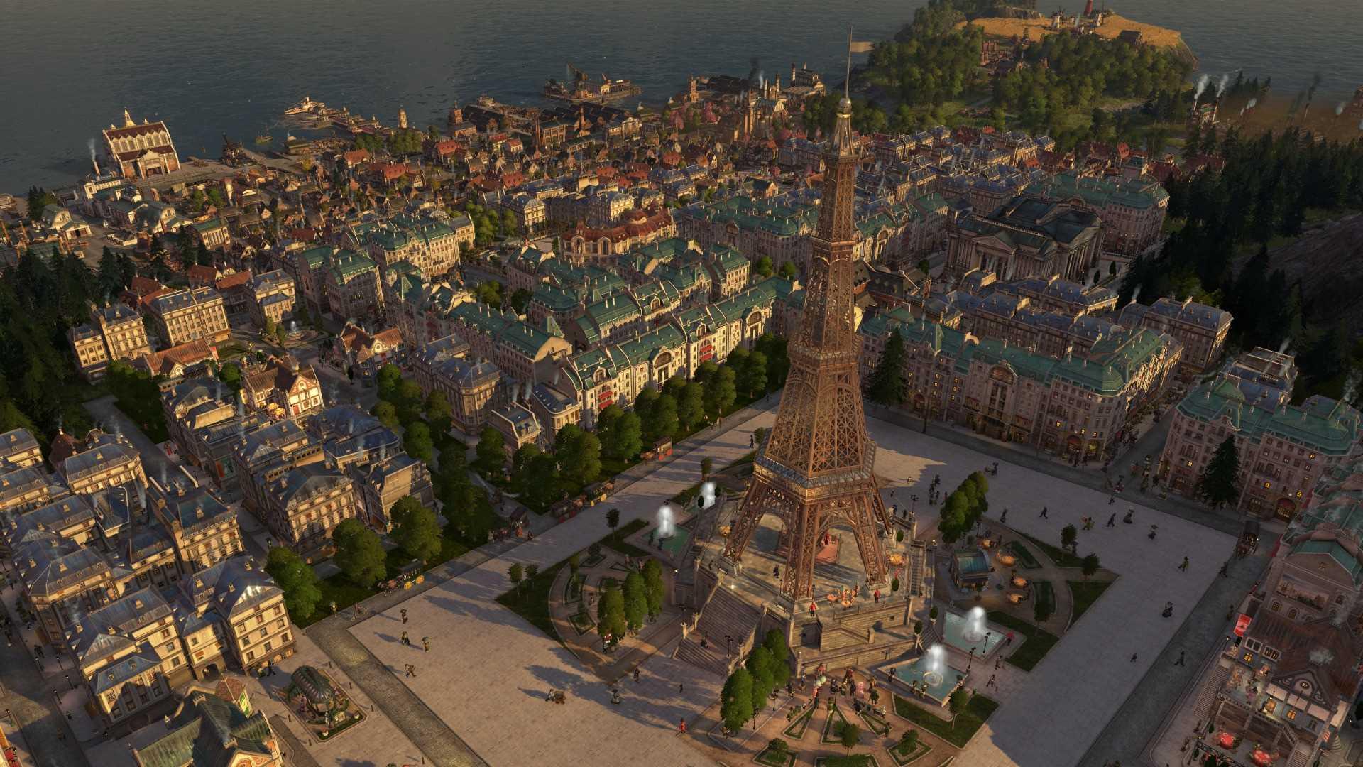 Anno 1800 Reisezeit - Monument Tower