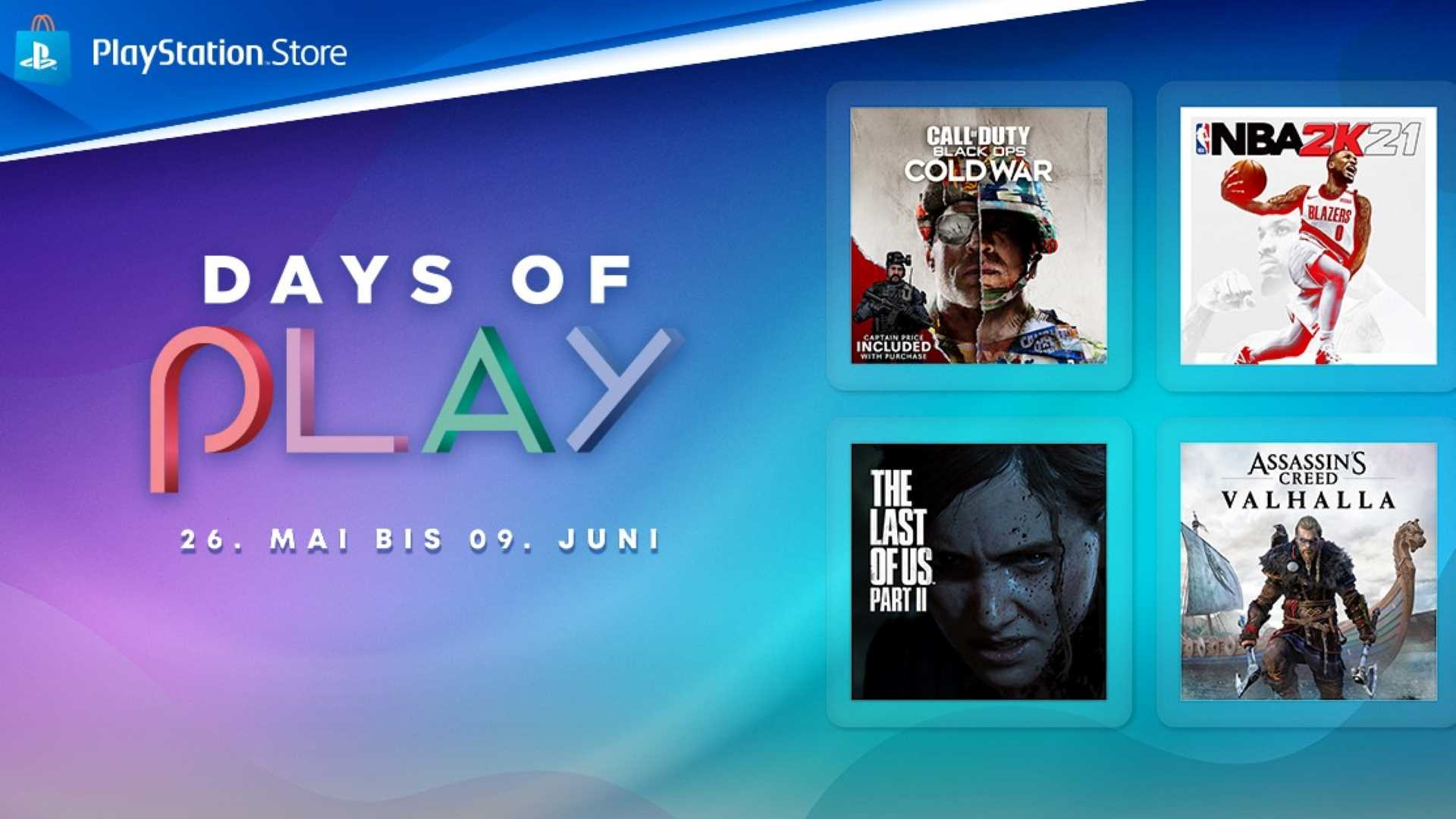 Days of Play PlayStation Store - Angebote
