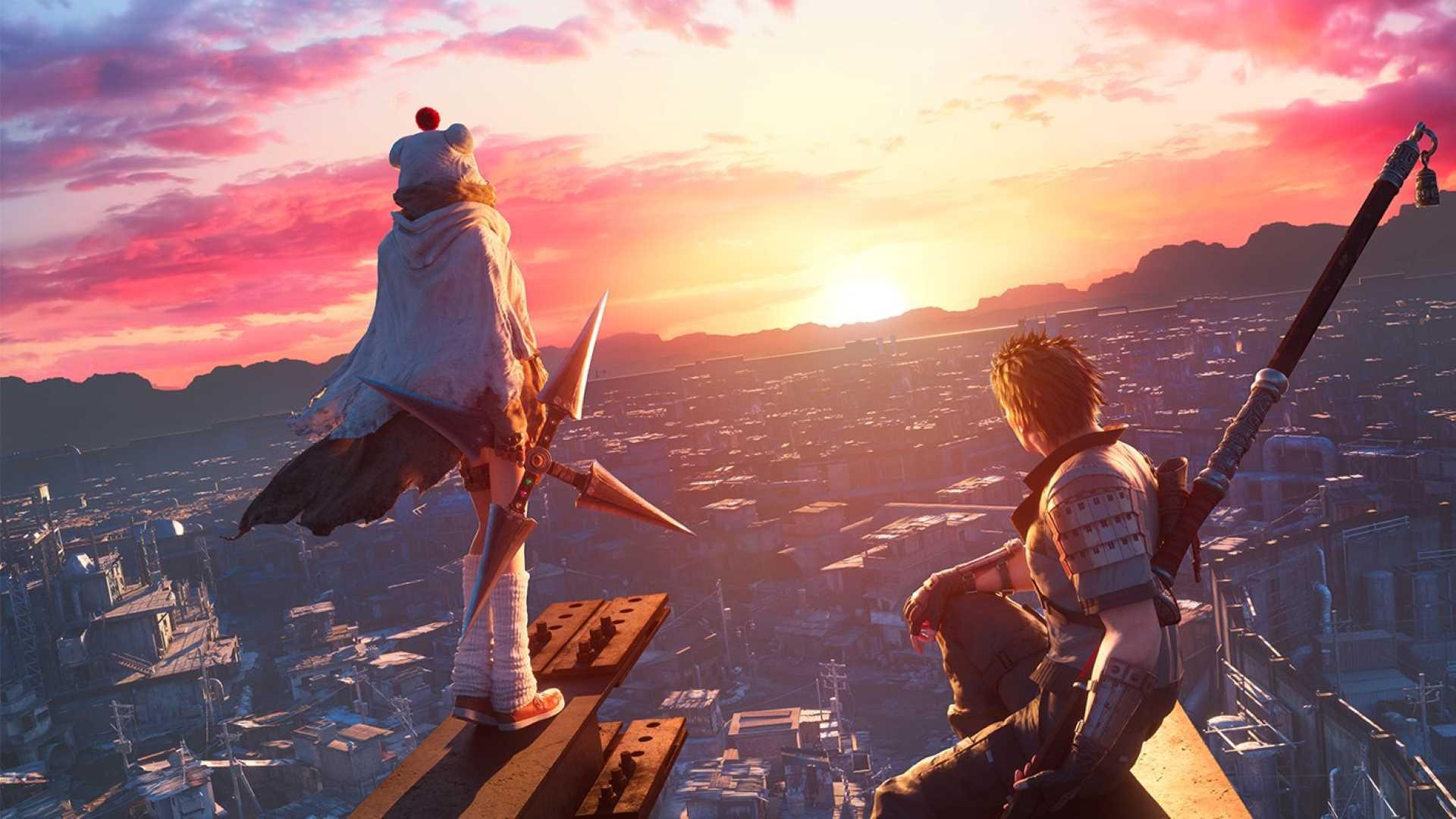 Final Fantasy VII Remake Intergrade - Sonnenuntergang