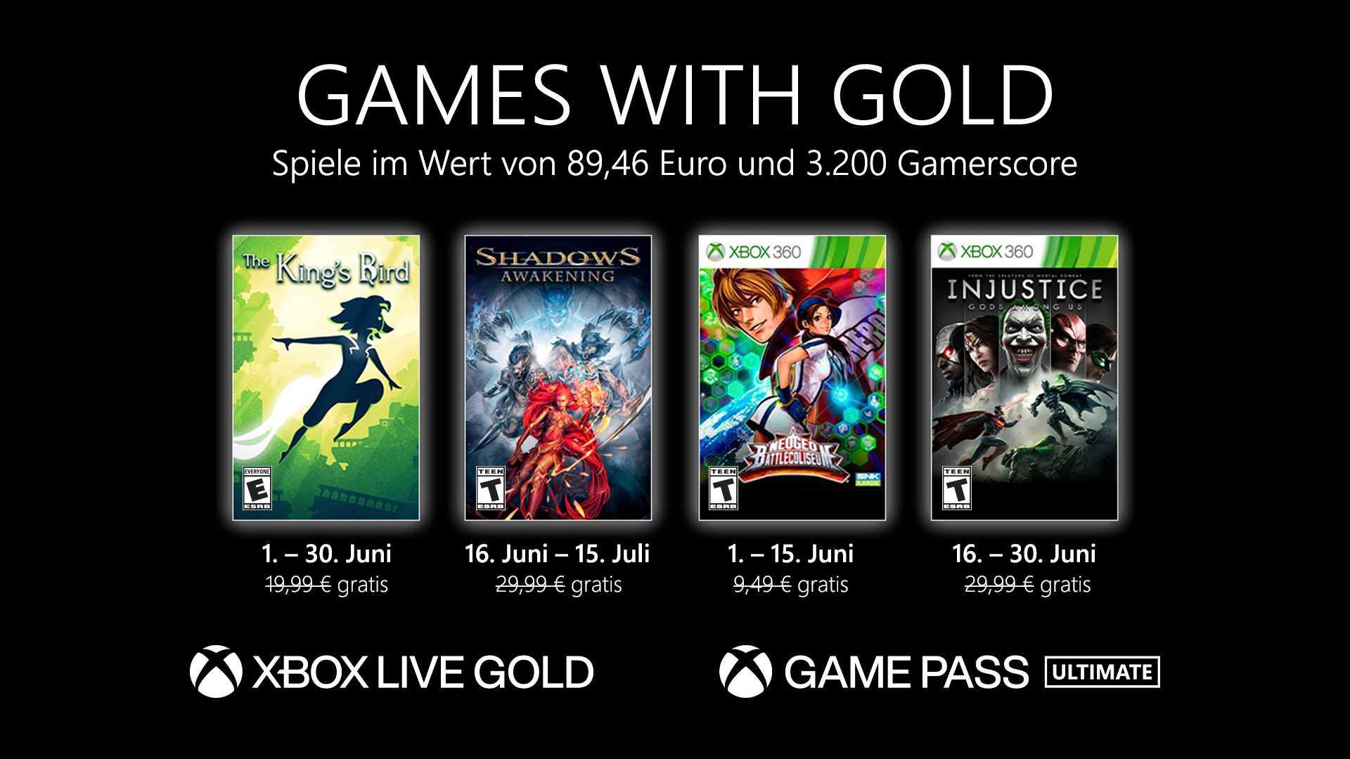 Games with Gold Juni 2021 - KeyArt
