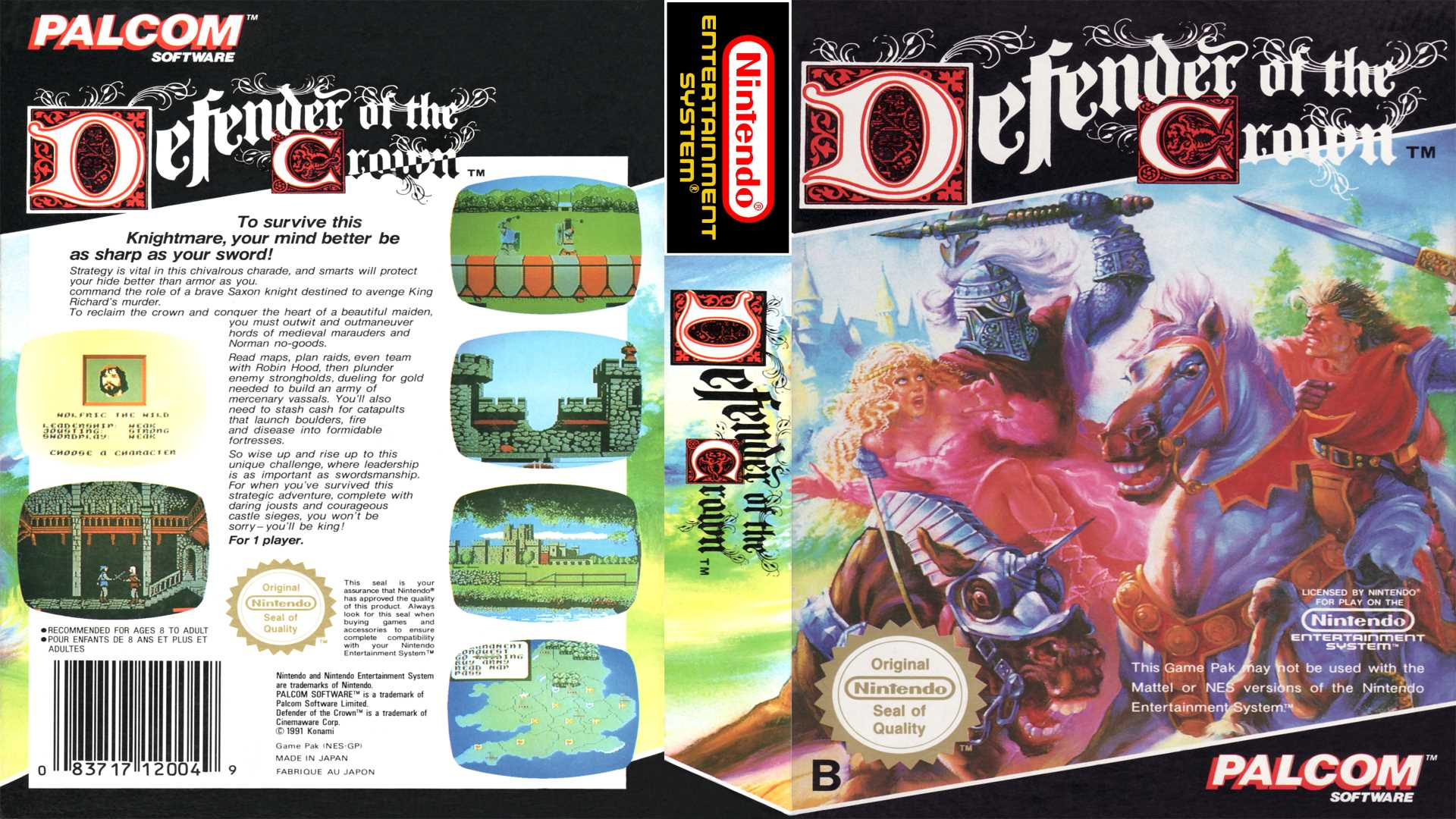 Wunderbare Jahre oder: Retro Teil 1 - Defender of the Crown Cover