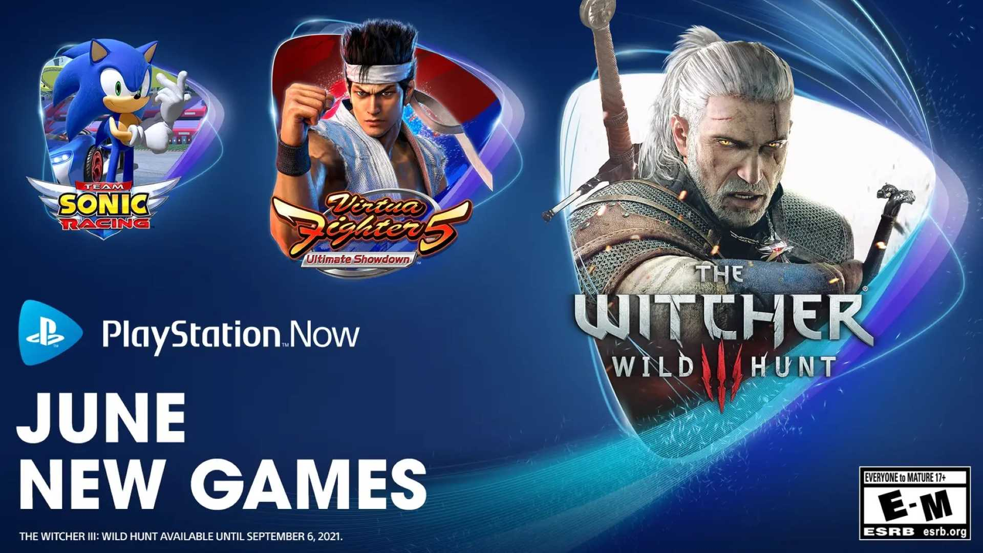 PlayStation Now Juni 2021 - Key Art