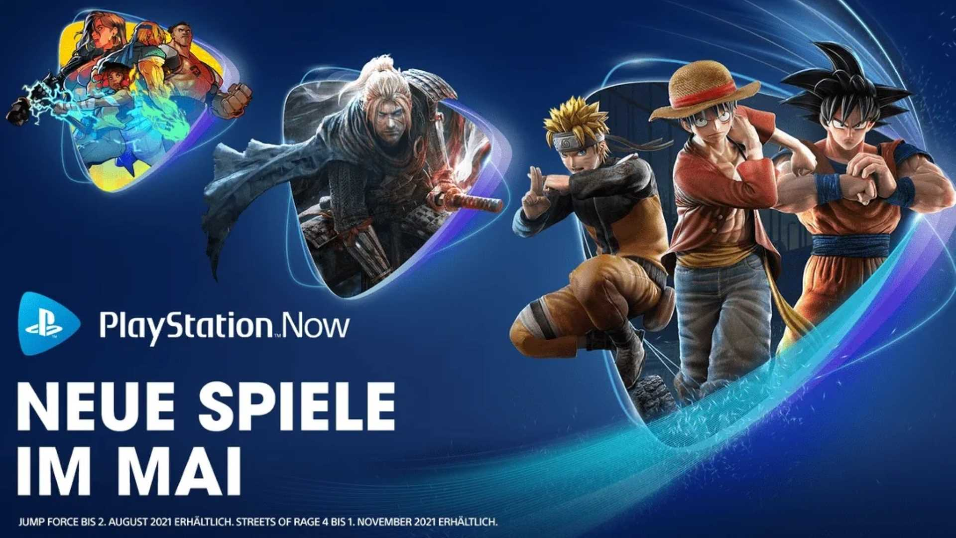 PlayStation Now Mai 2021 - Key Art