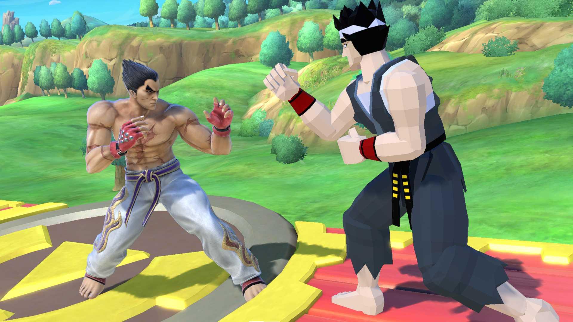 Kazuya Mishima Super Smash Bros. Ultimate - Heute gegen damals