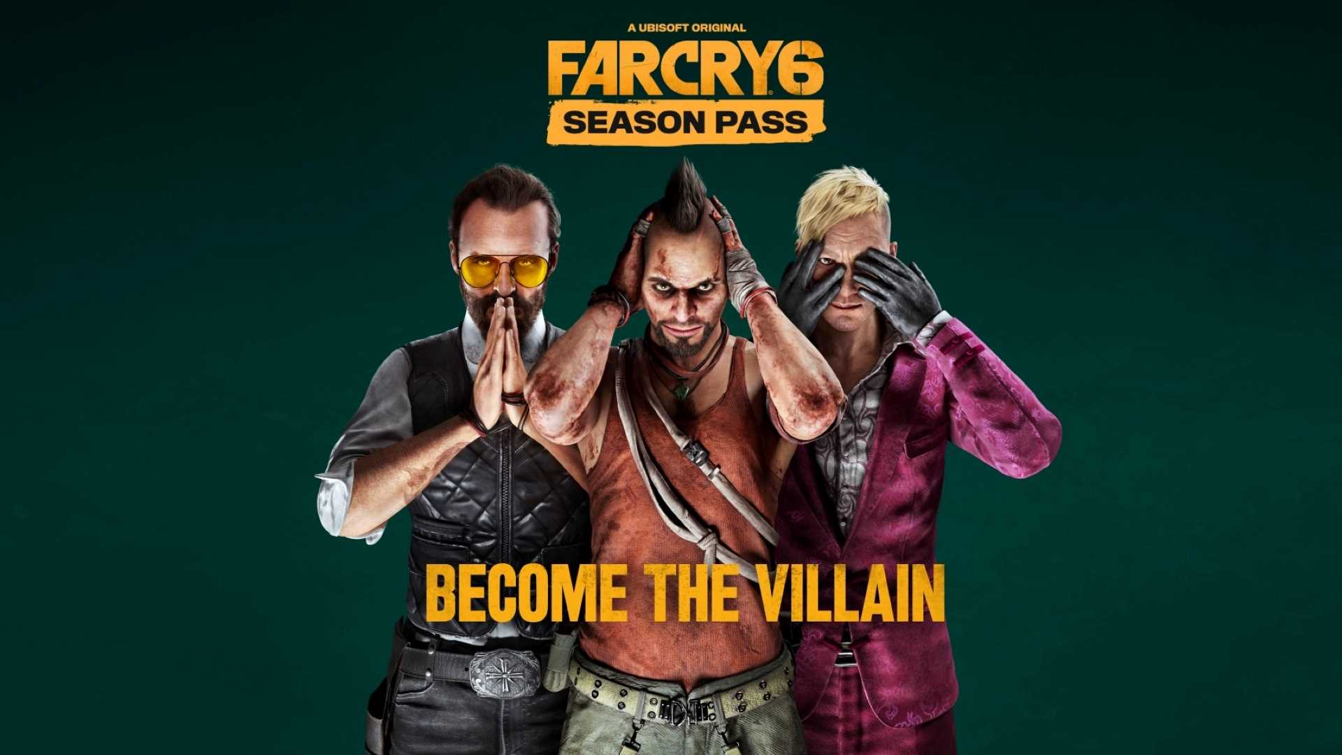 Far Cry 6 - Season Pass Key Art