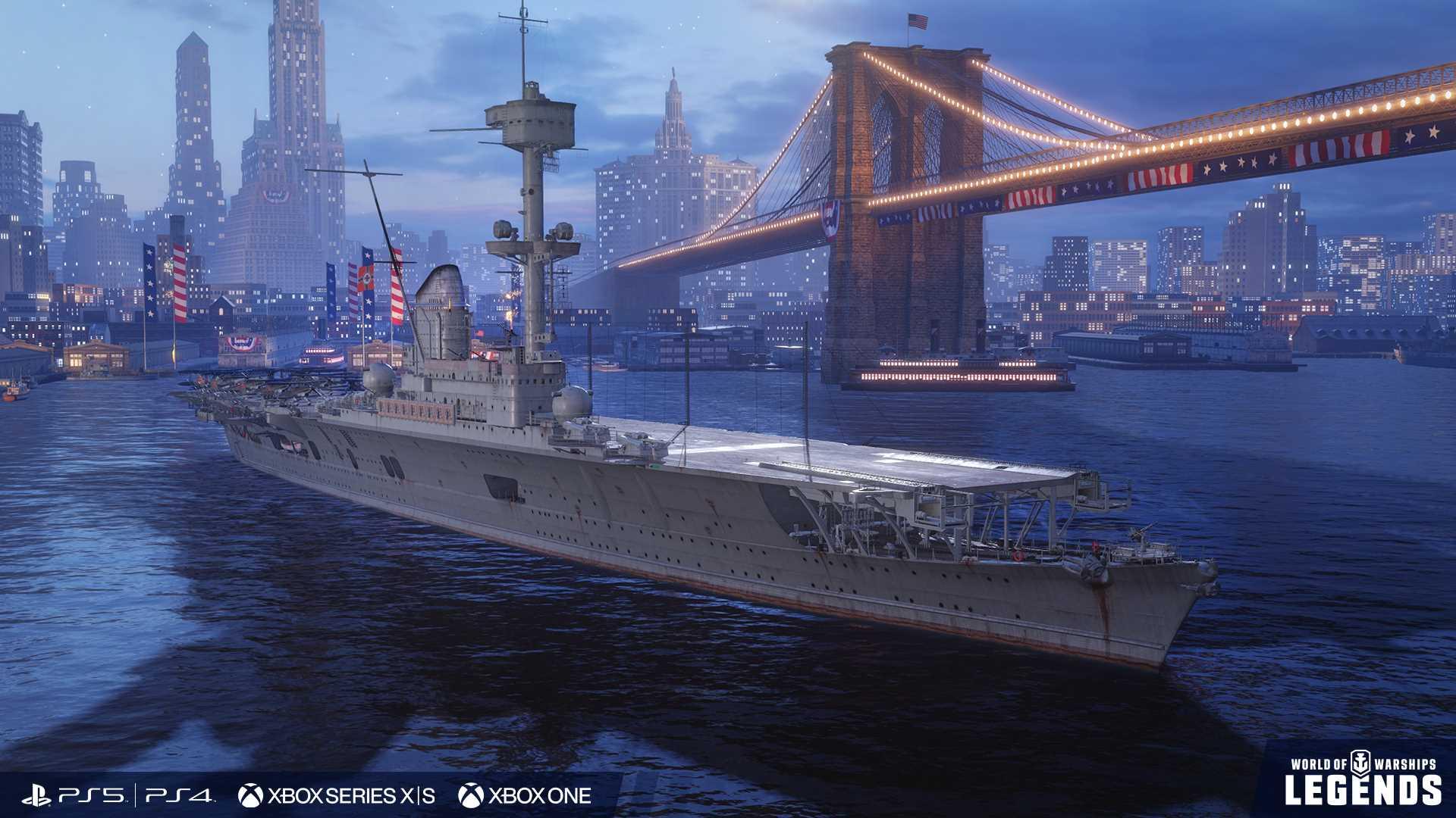 World of Warships: Legends Update - Screenshot