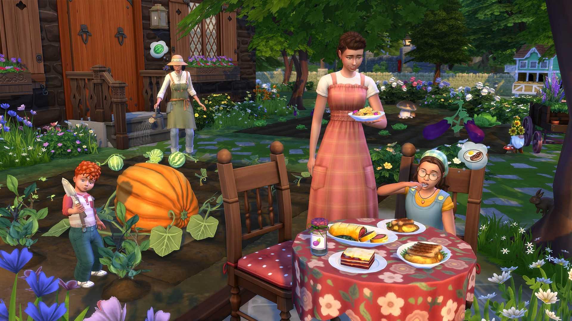 Die Sims 4 Landhaus-Leben - Screenshot