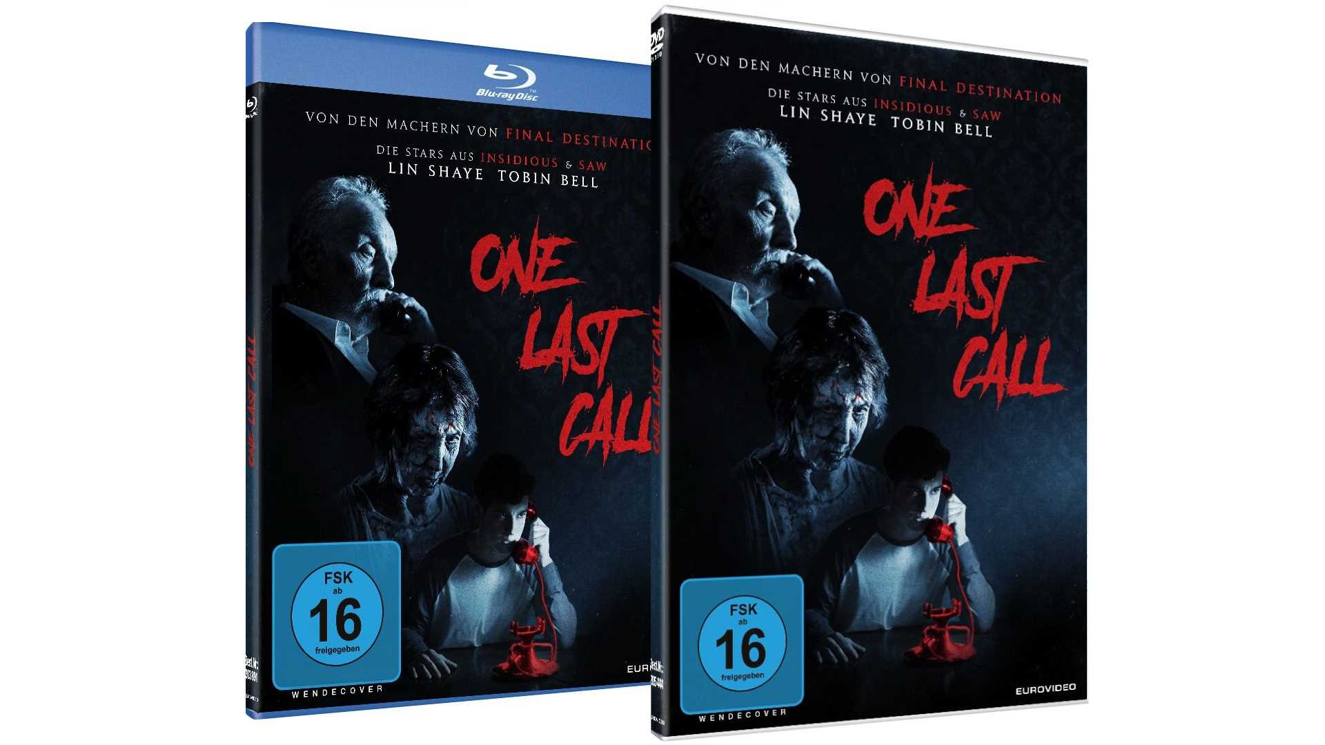 One Last Call - Gewinnspiel DVD und Blu-Ray Packshots