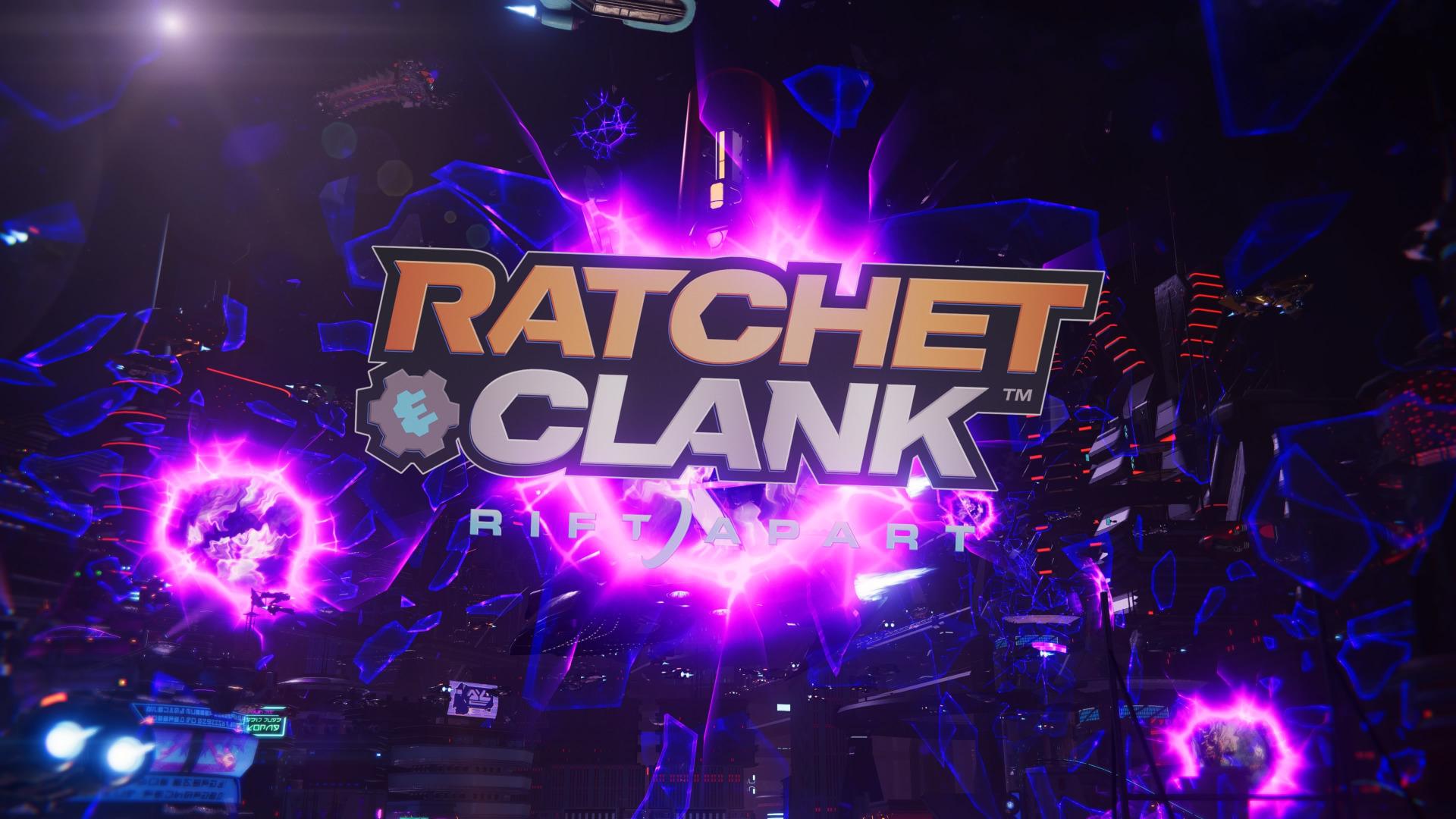 Ratchet & Clank: Rift Apart Titelschirm