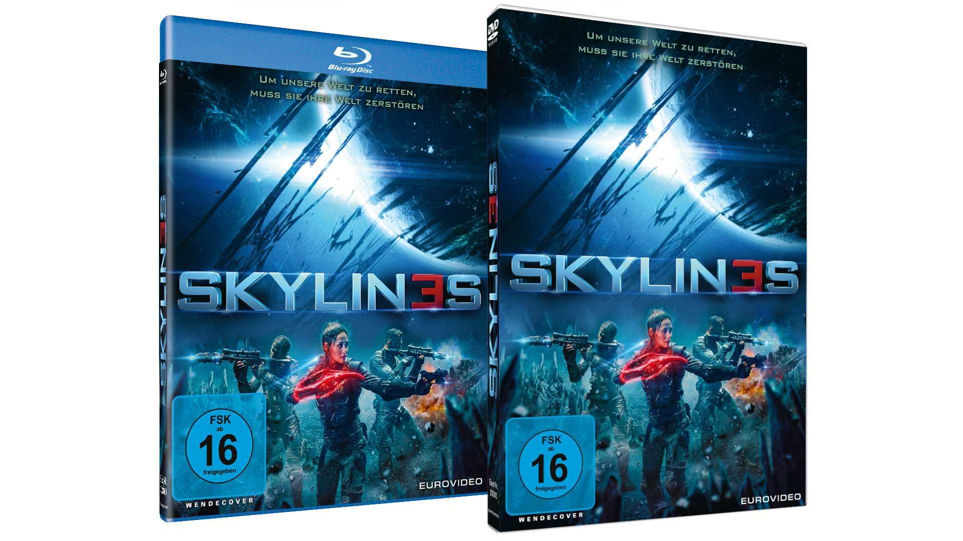 SKYLIN3S - Gewinnspiel DVD und BD