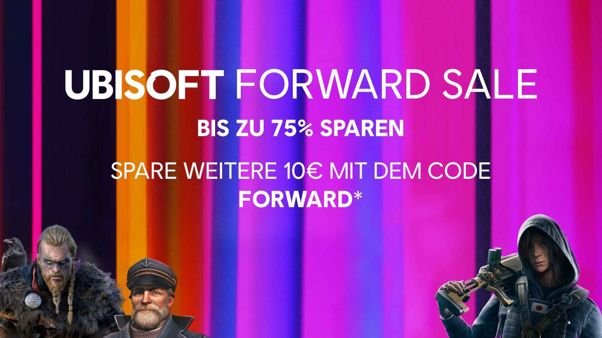 Ubisoft Forward Sale - Key Art