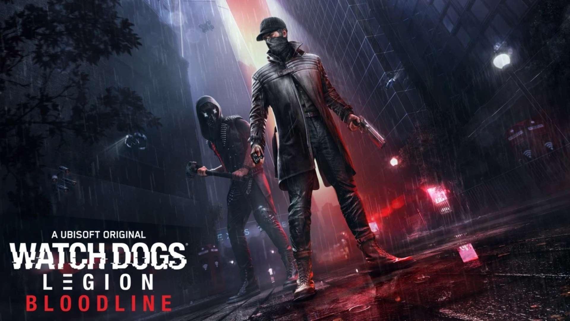 Watch Dogs: Legion - Bloodline - Key Art