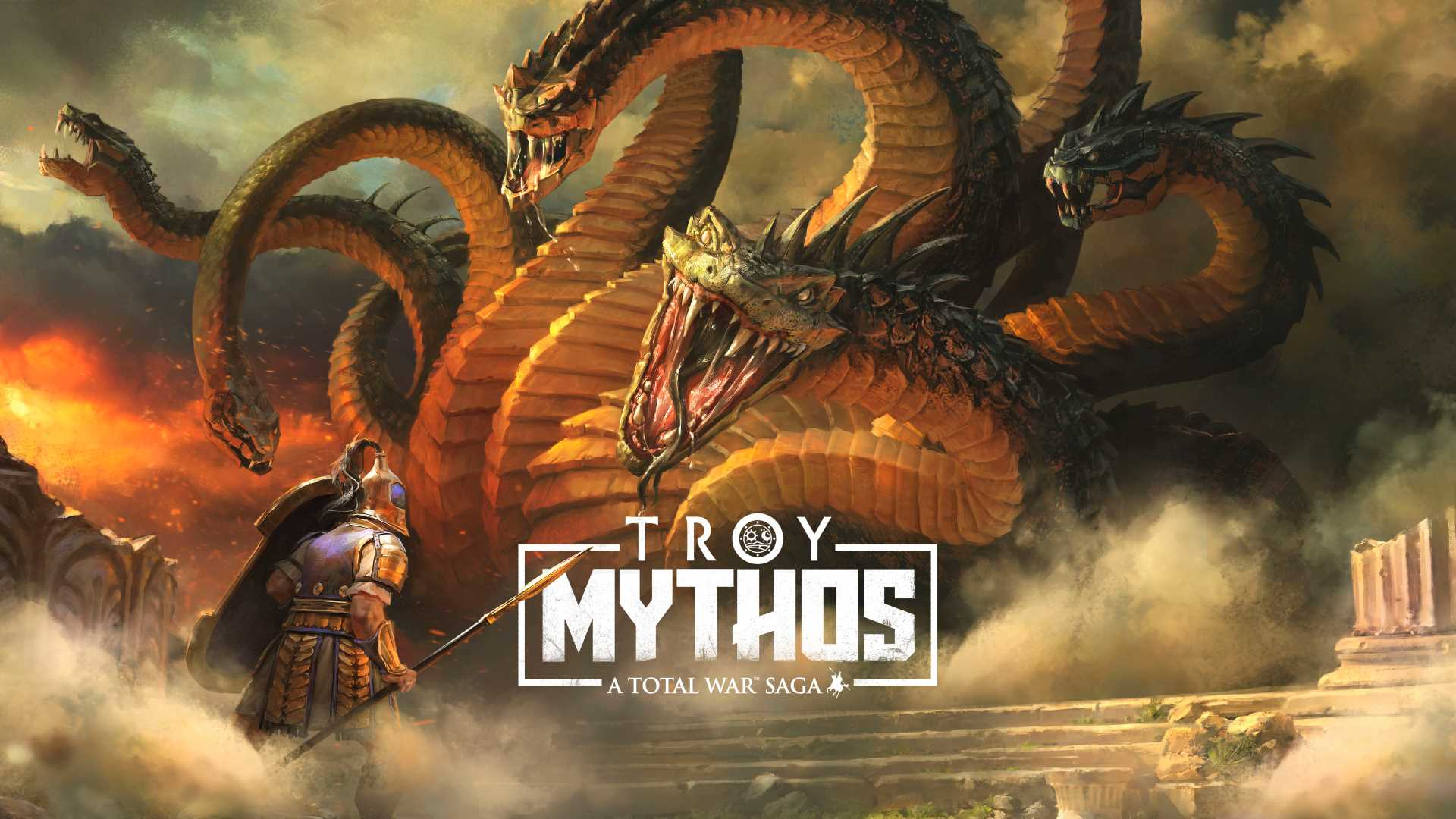 A Total War Saga: TROY Mythos - Key Art