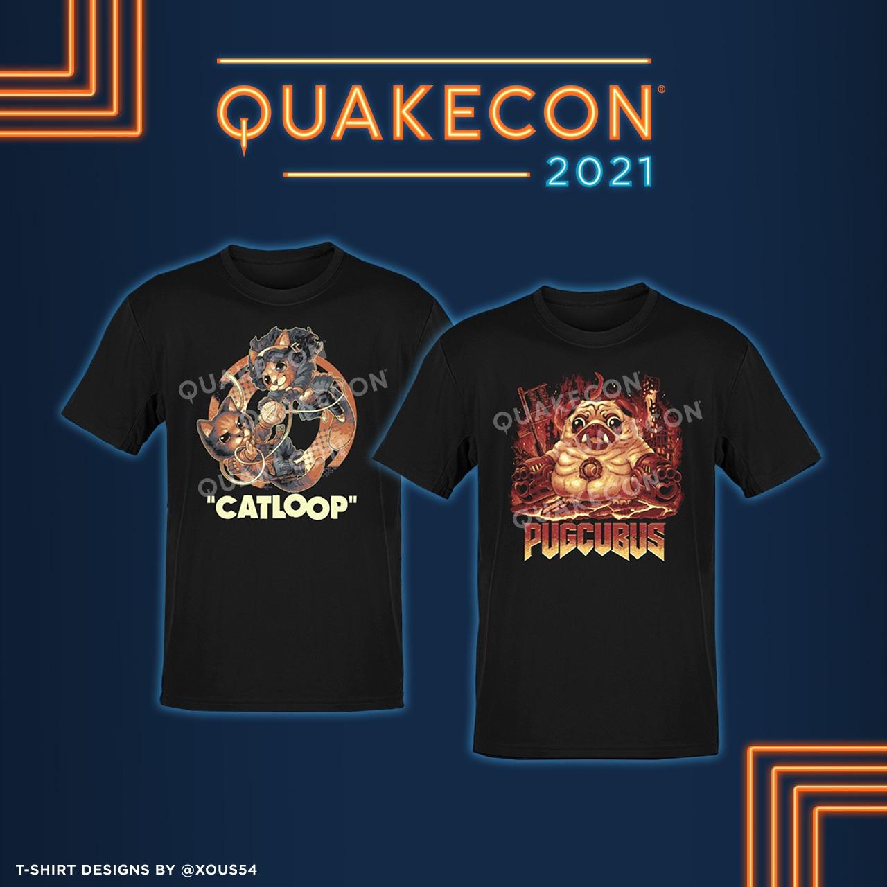 QuakeCon 2021 - QC Charity Shirts