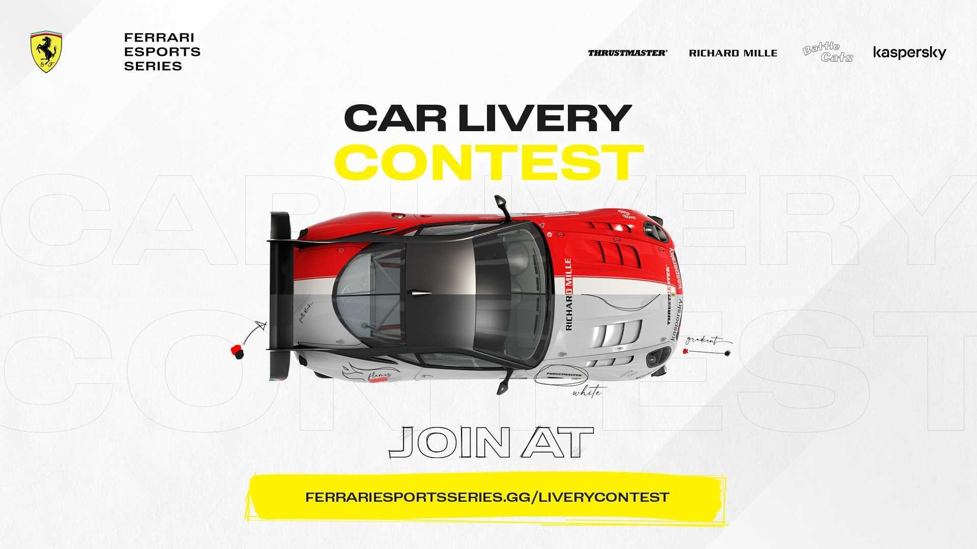 Ferrari Esports Series 2021 Qualifiers - Key Art