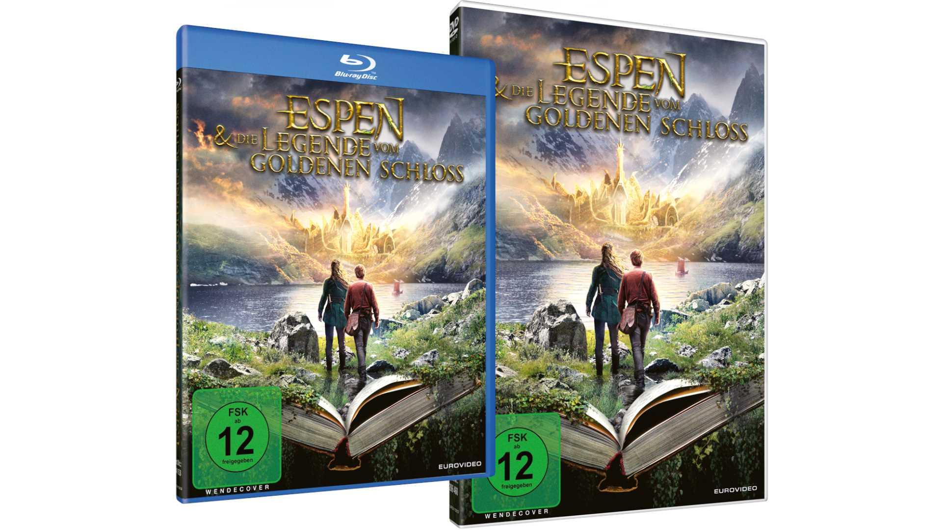 Espen und die Legende vom goldenen Schloss - BD&DVD