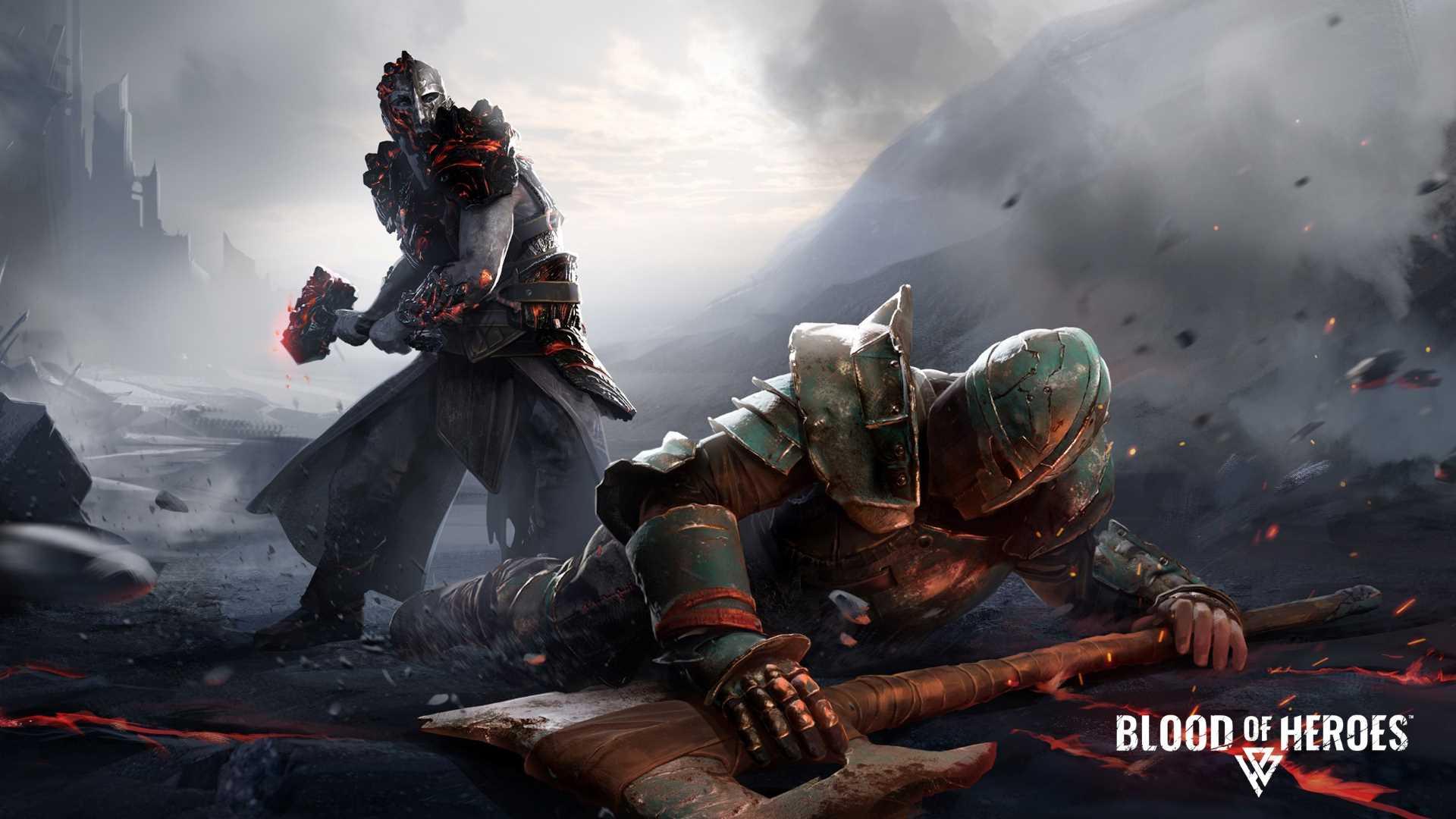 Blood of Heroes Open Beta - Artwork