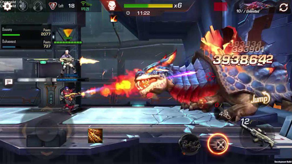 Contra Returns - Screenshot