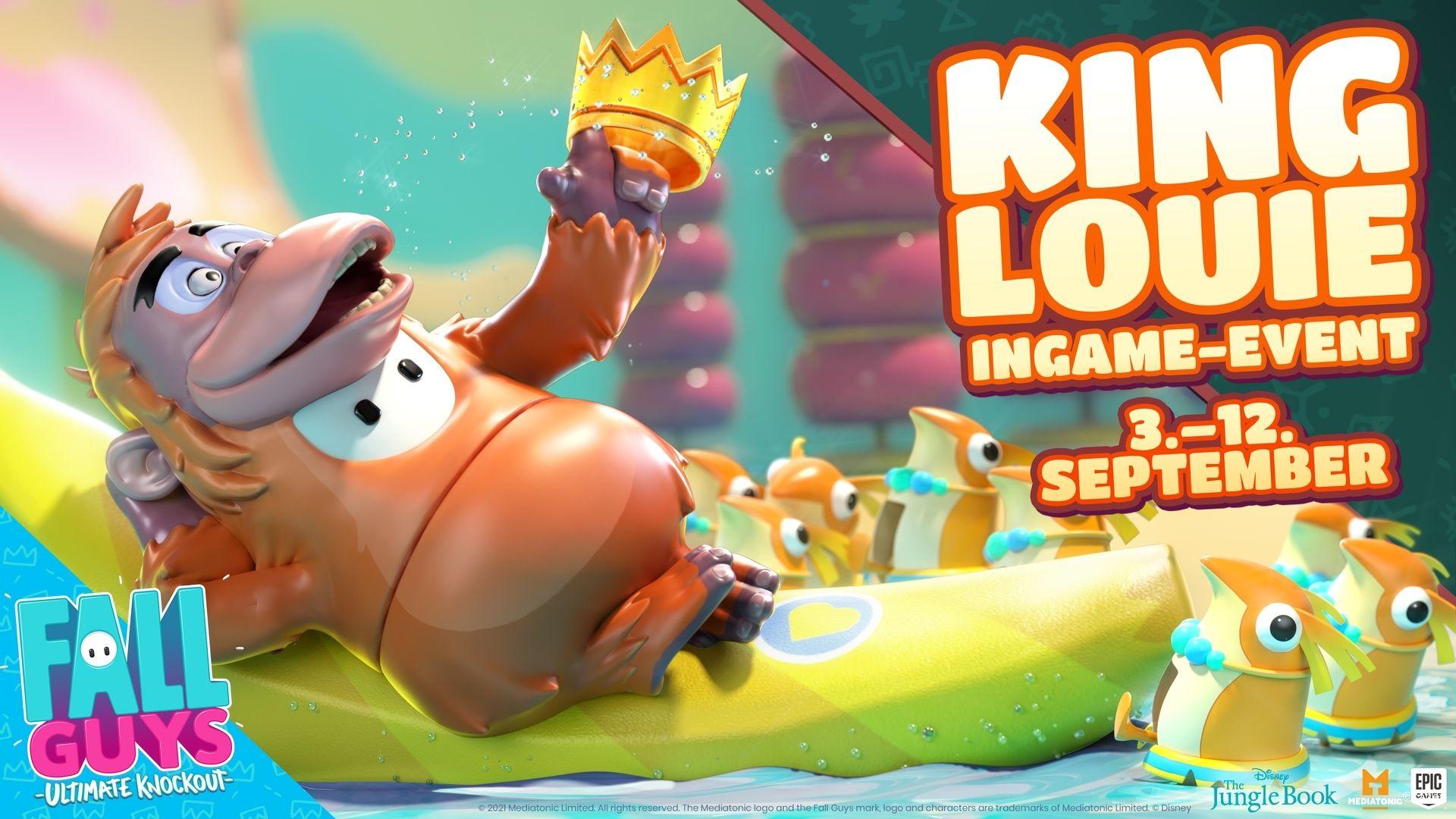 Fall guys Dschungelbuch King Louie Event