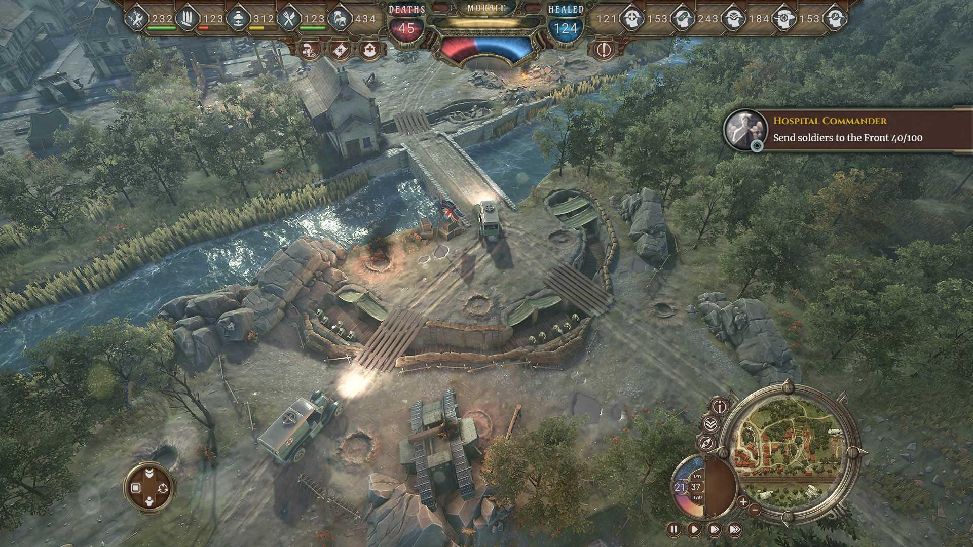 War Hospital - Screenshot 1920x1080