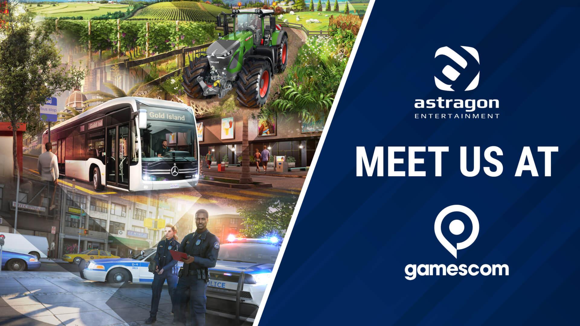 astragon Entertainment gamescom - Keyart