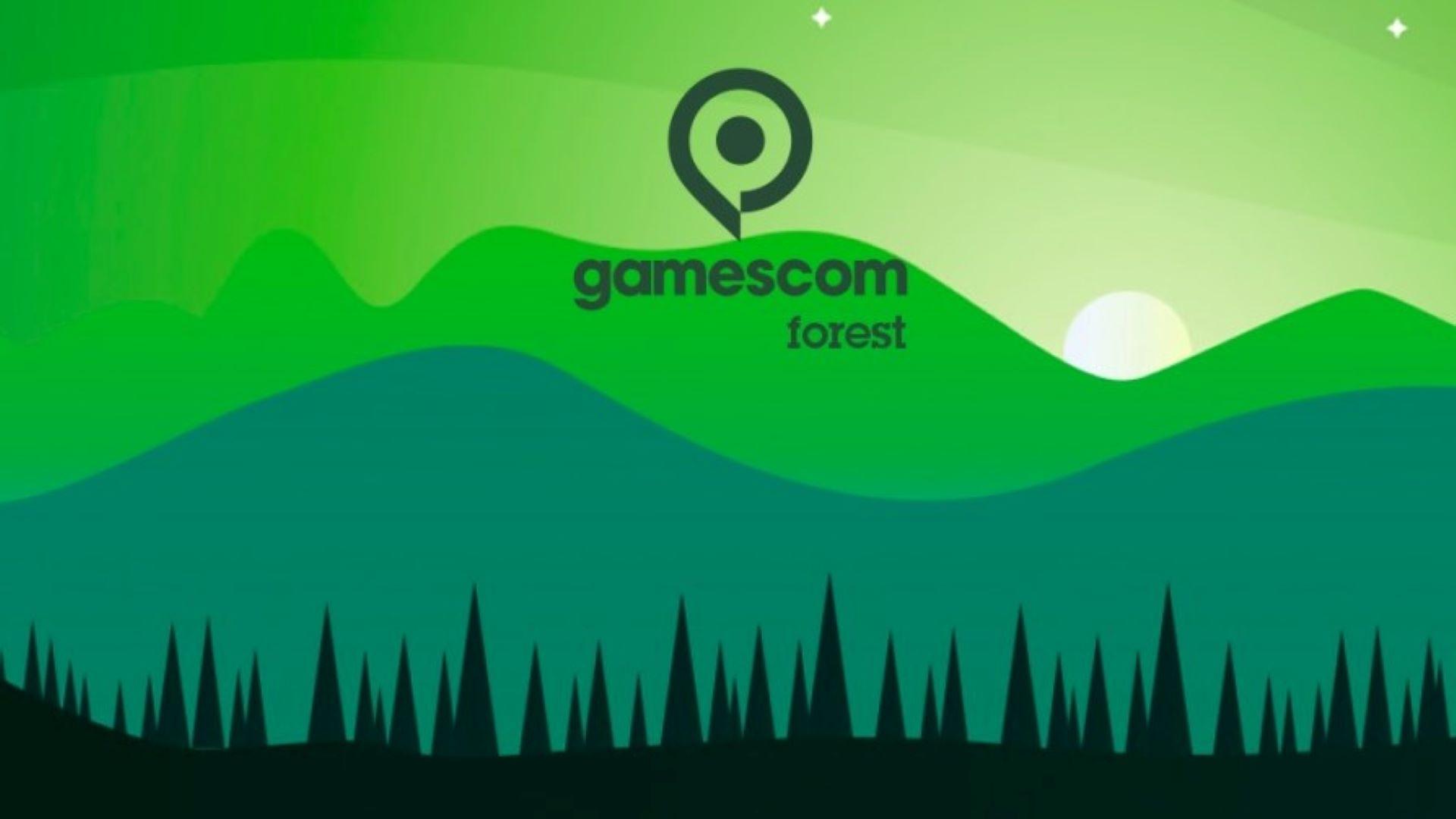 gamescom 2021 - gamescom forest